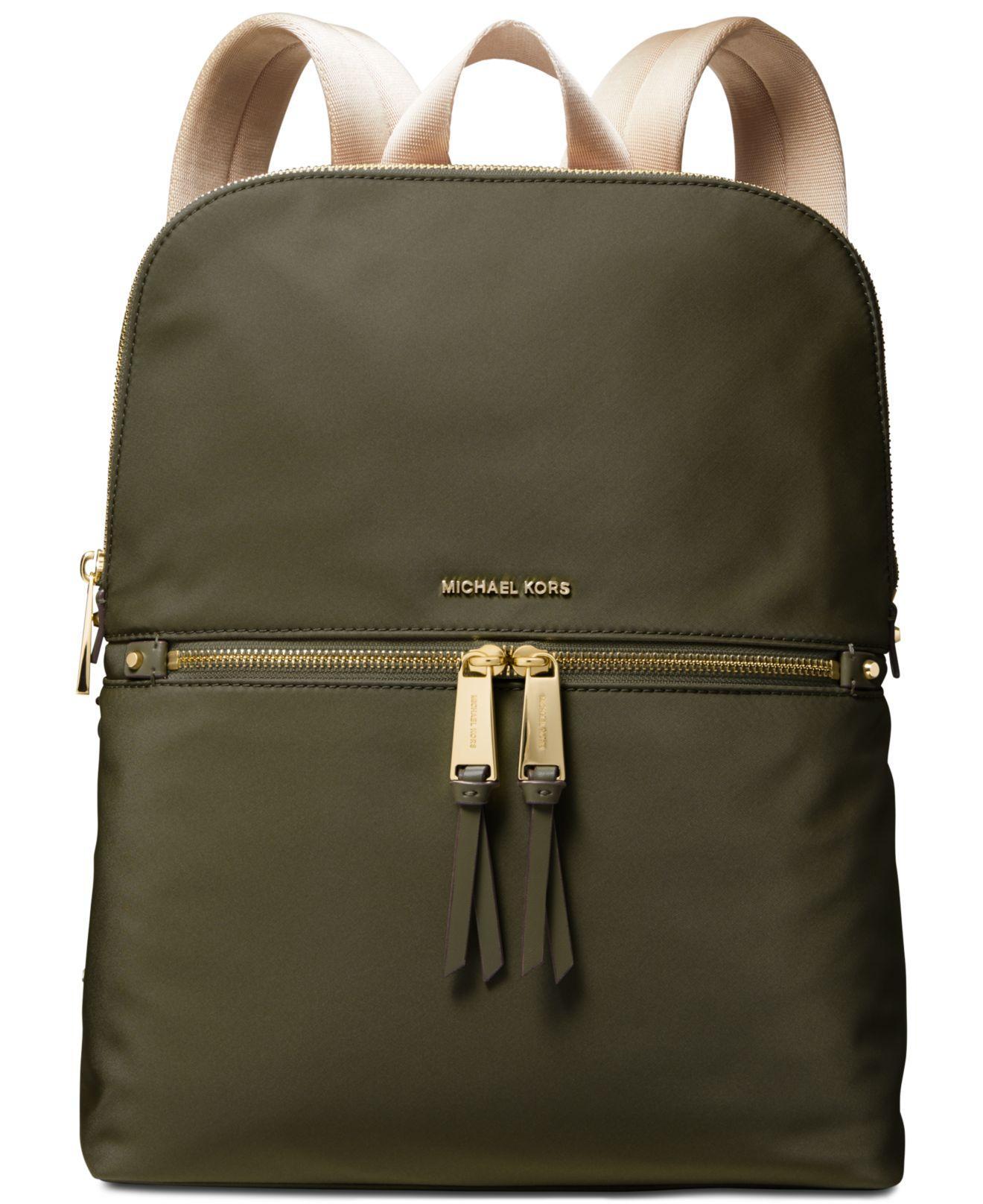 ac0424688dec Michael Kors - Multicolor Michael Rhea Signature Backpack - Lyst. View  fullscreen