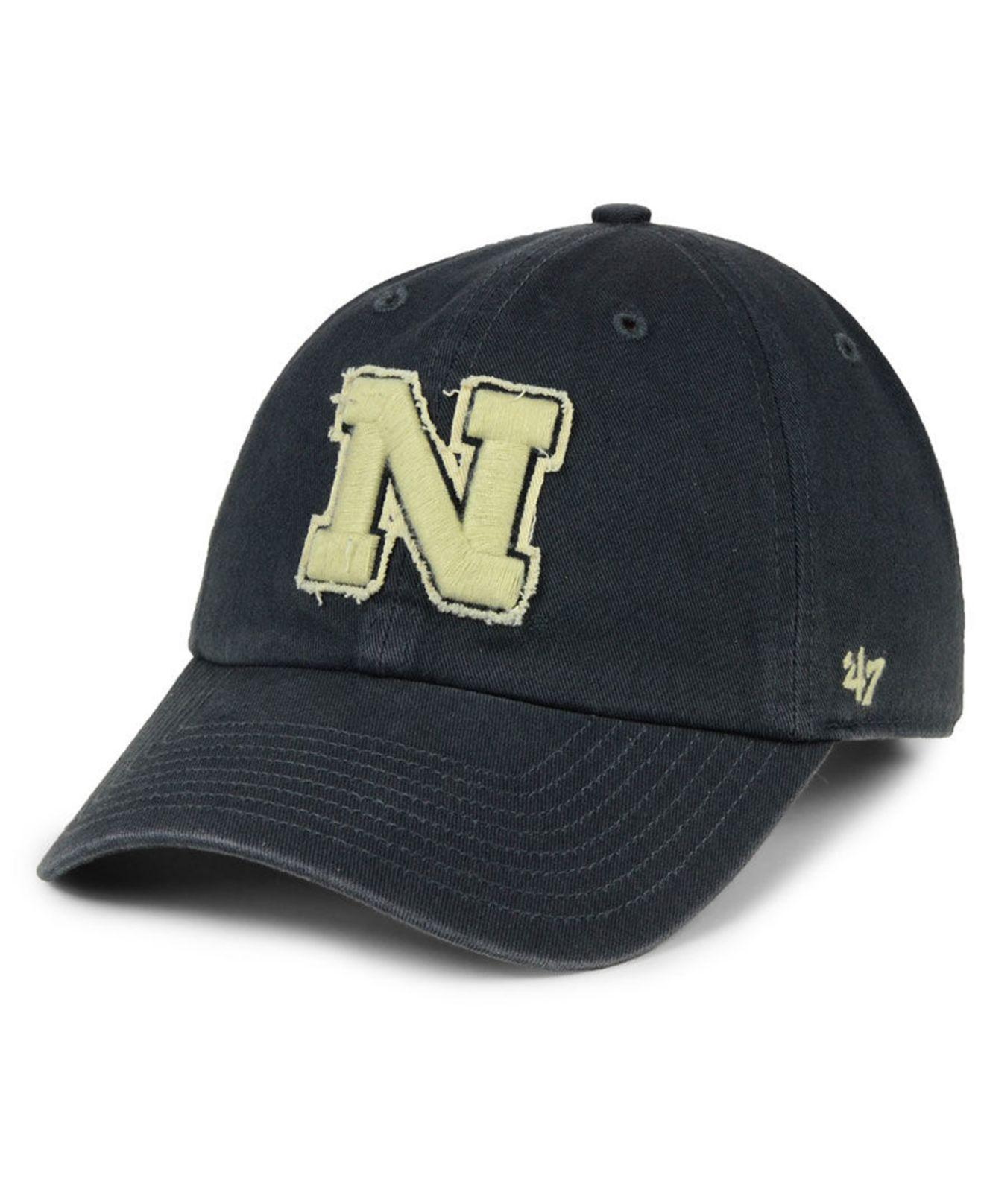 arrives 7658d d76a2 ... usa lyst 47 brand nebraska cornhuskers double out clean up cap in blue  41f71 caf2b