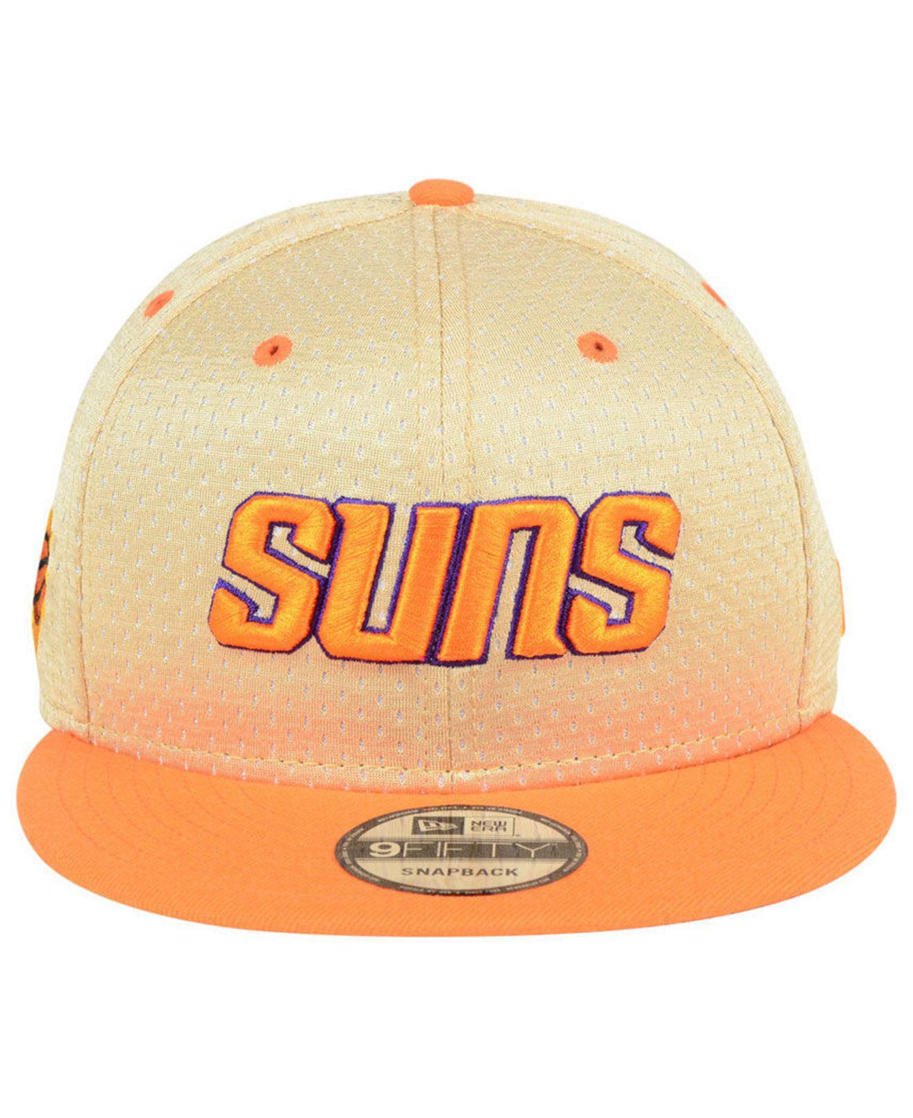 timeless design 25e90 7c1ac ... discount code for lyst ktz phoenix suns champagne 9fifty snapback cap  in orange for men 83e4a