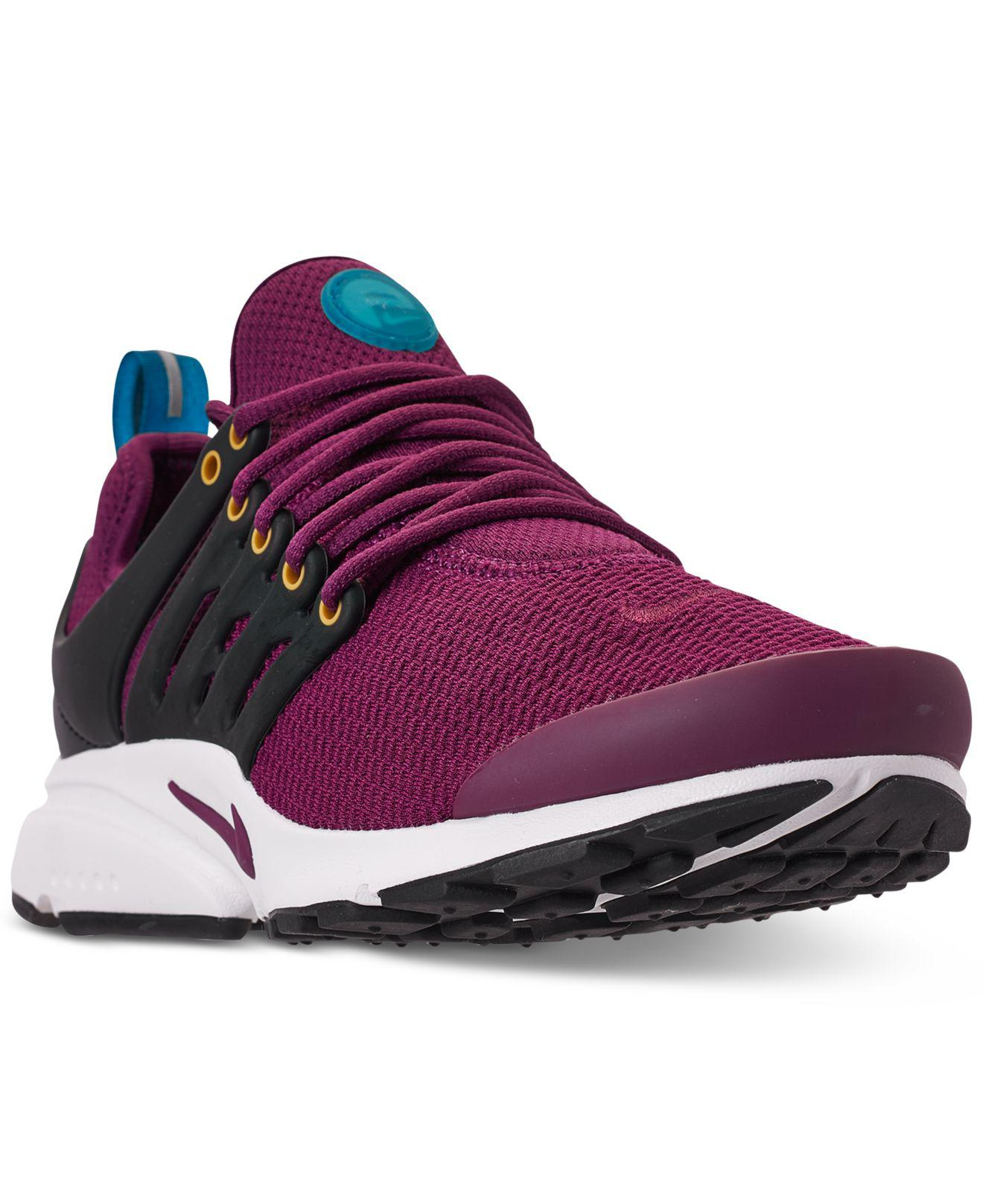 9da9fb17c69f Lyst - Nike Air Presto Running Sneakers From Finish Line in Purple
