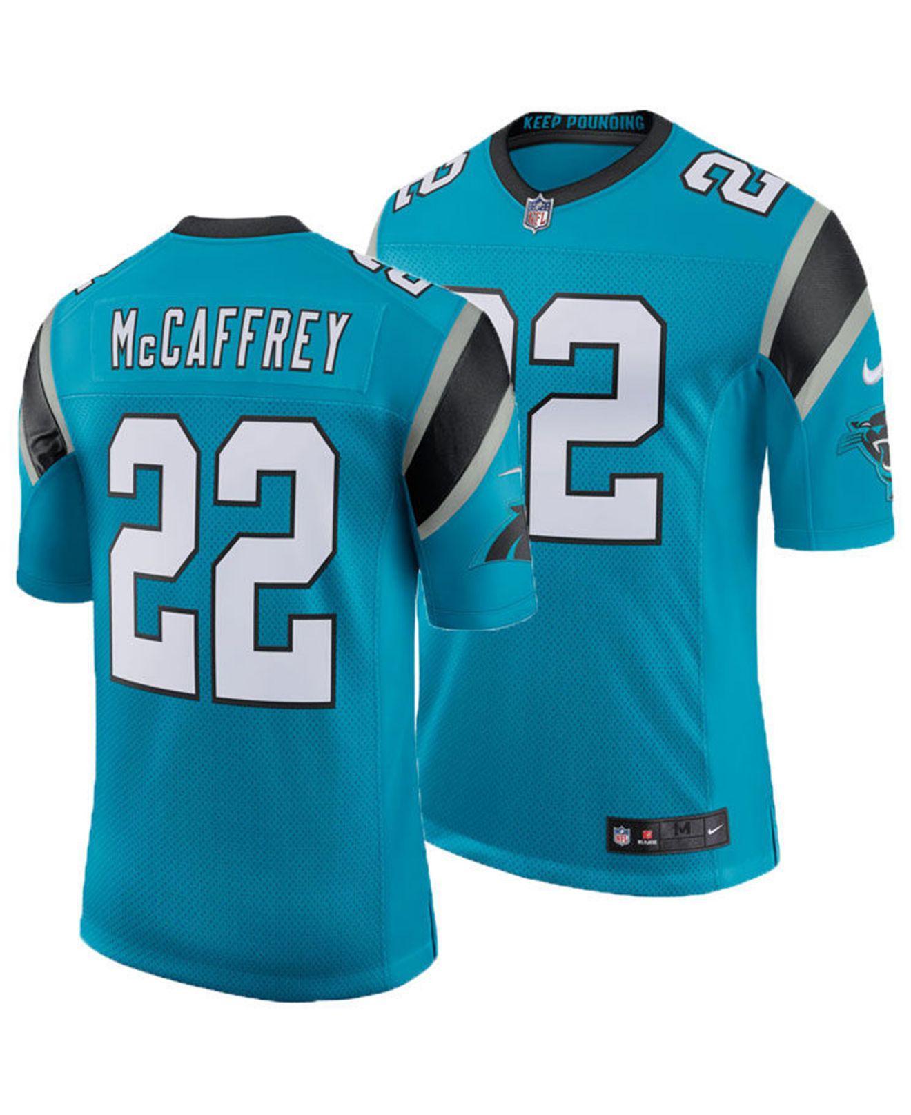 Lyst - Nike Christian Mccaffrey Carolina Panthers Limited Jersey in ... 1bf5bcc1b