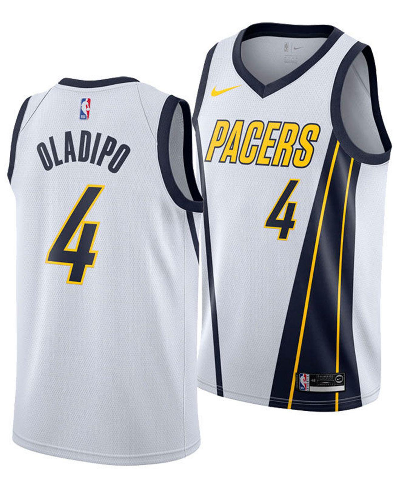 d74f15ad9 Nike. Men s White Victor Oladipo Earned City Edition Swingman (indiana  Pacers) Nba Connected Jersey