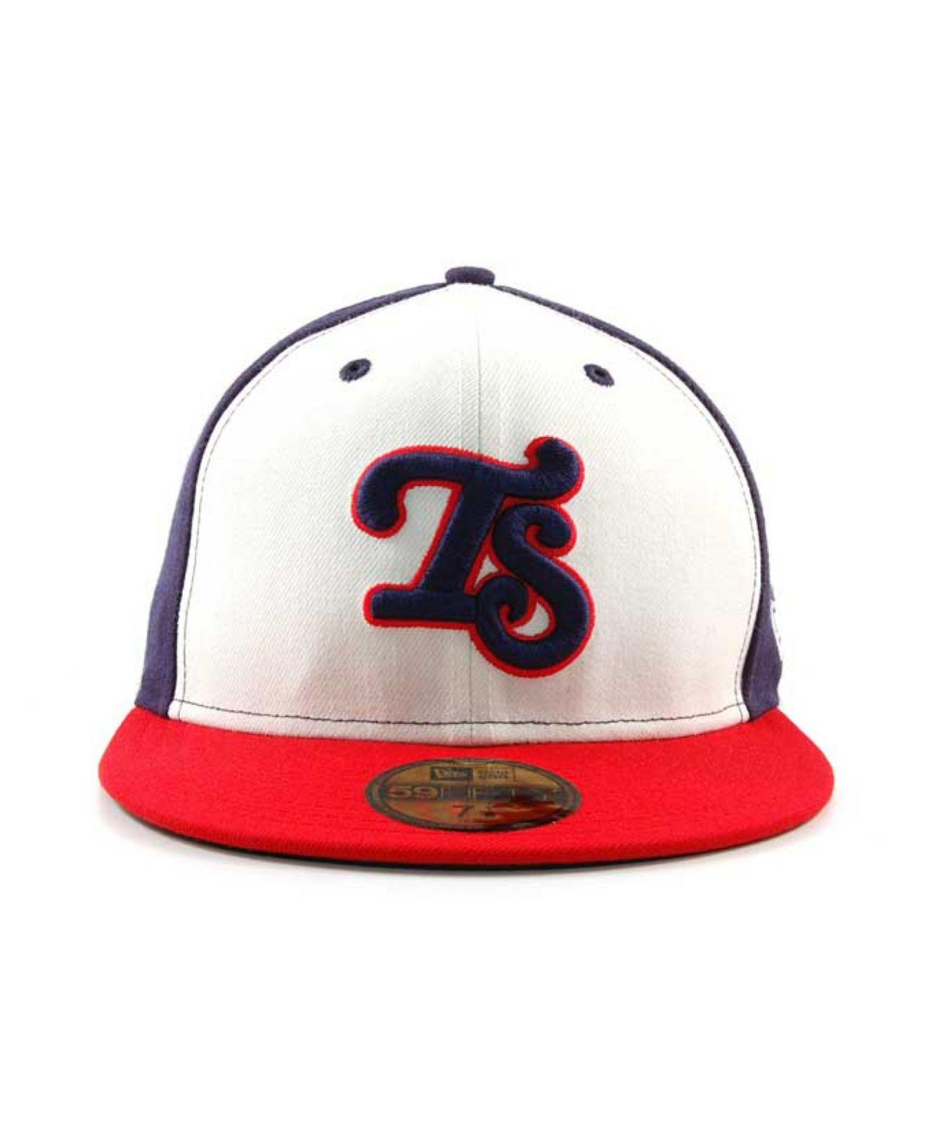 reputable site 0a9f1 0491c ... czech lyst ktz tennessee smokies milb 59fifty cap in white for men  60644 f328b