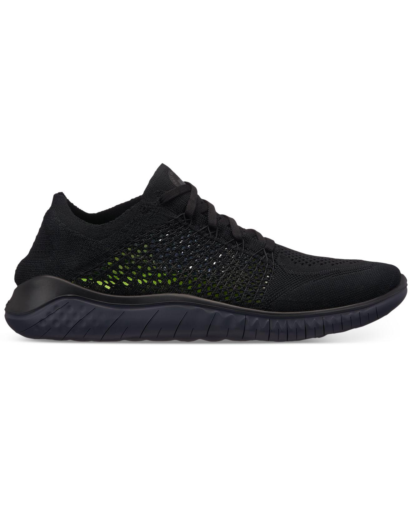 f304940fe3209 Lyst - Nike Free Run Flyknit 2018 Running Sneakers From Finish Line ...