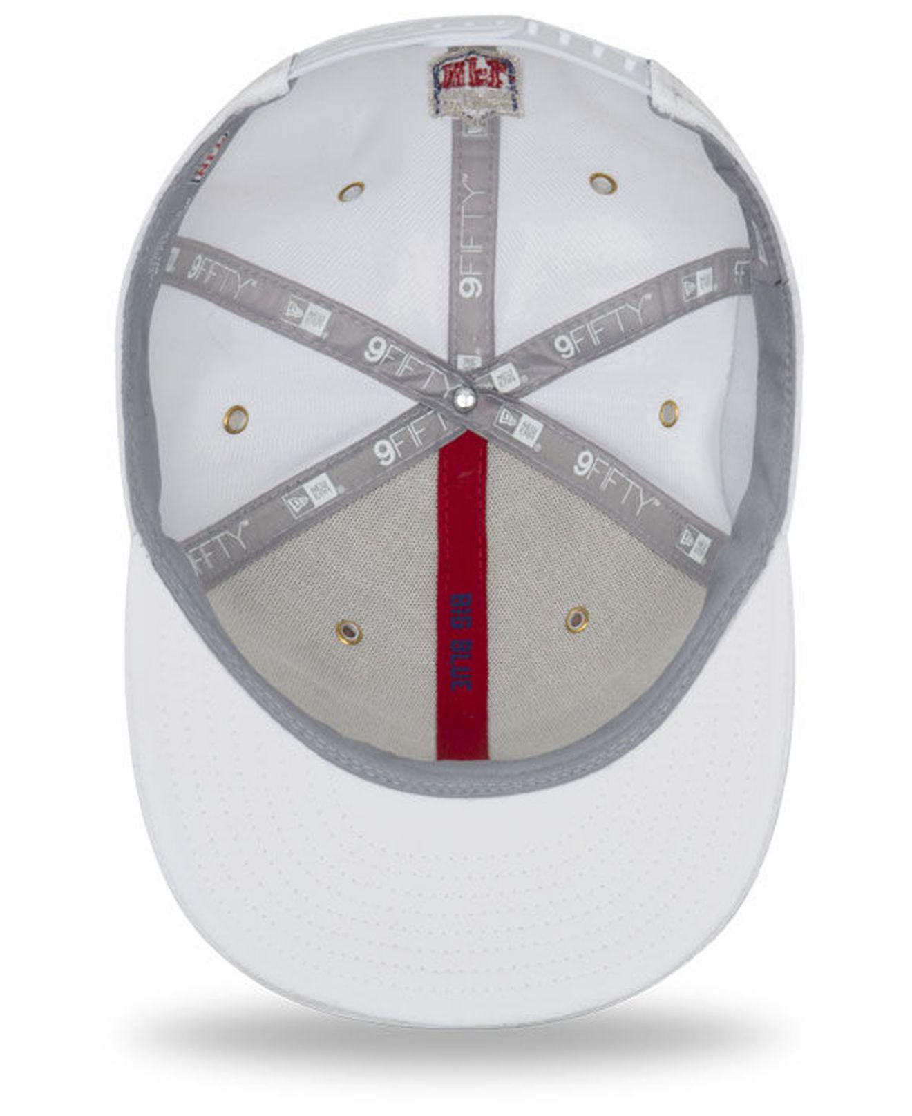 ... sale uk a04c0 393f3 Lyst - Ktz New York Giants On Field Color Rush  9fifty Snapba ... 2935ccc22
