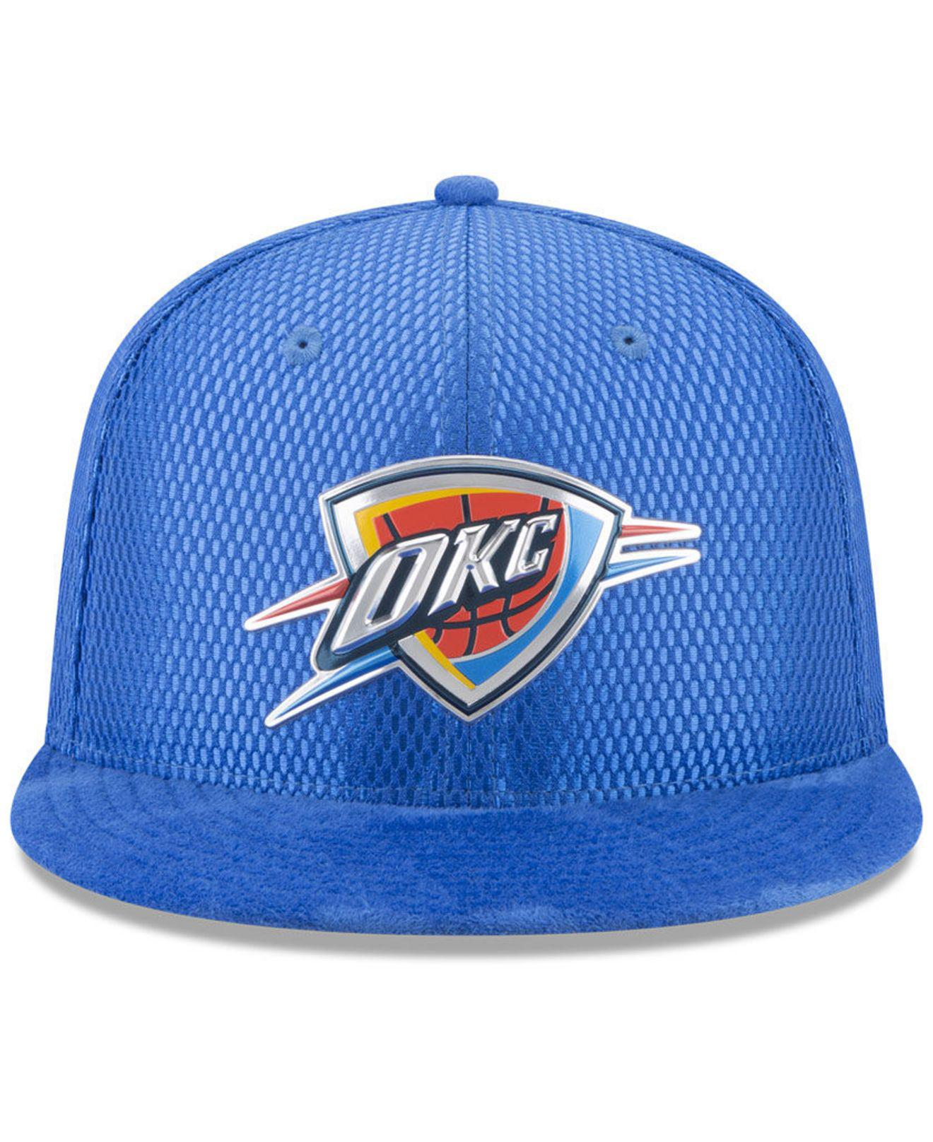 new style fd70a 6b72c usa ktz oklahoma city thunder city on court 59fifty fitted cap lyst 70d87  d8aa5  best price gallery. previously sold at macys mens baseball caps  7cc50 f5c44