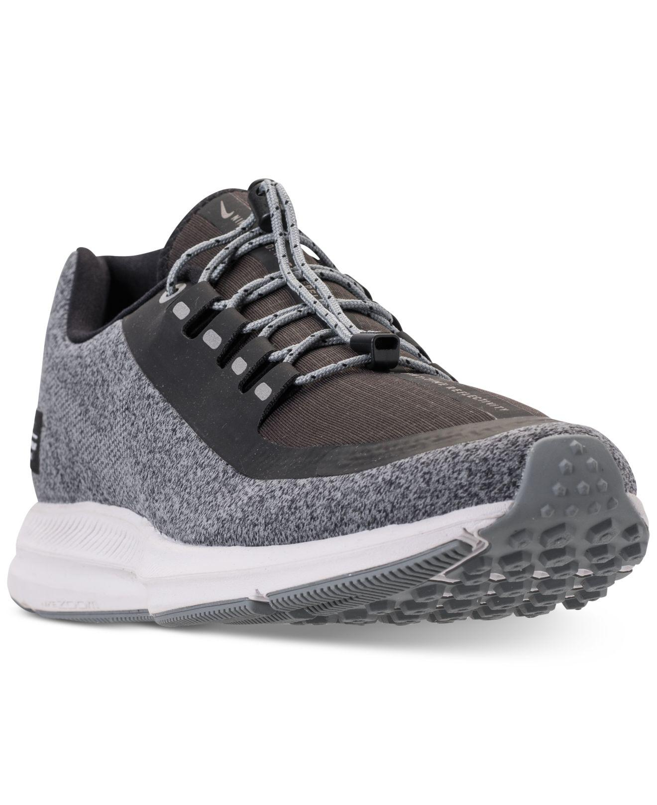 c5cb121ffe015 Lyst - Nike Air Zoom Winflo 5 Shield Running Sneakers From Finish ...