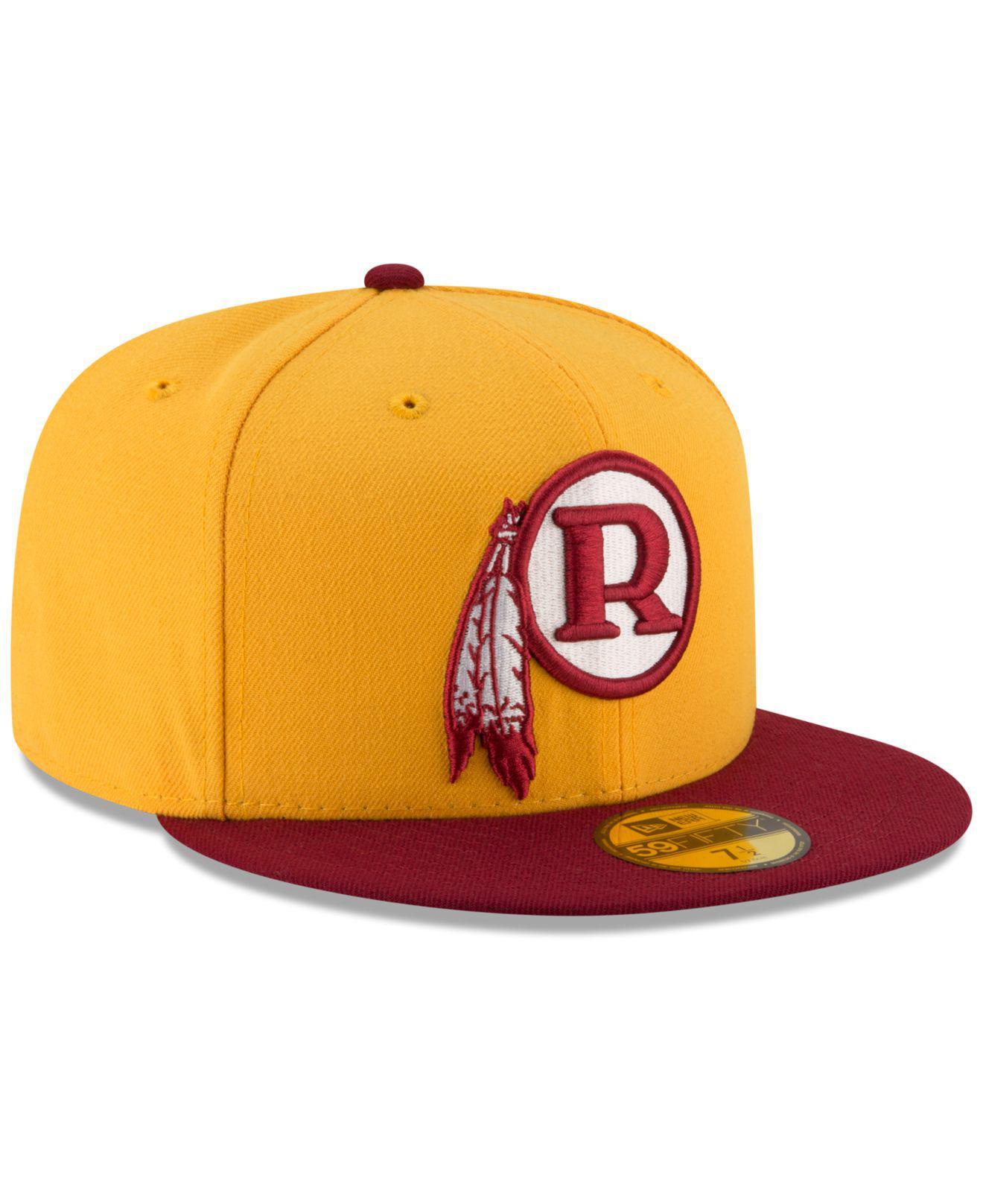 super popular 0aef2 20fd9 Lyst - KTZ Washington Redskins Team Basic 59fifty Fitted Cap for Men