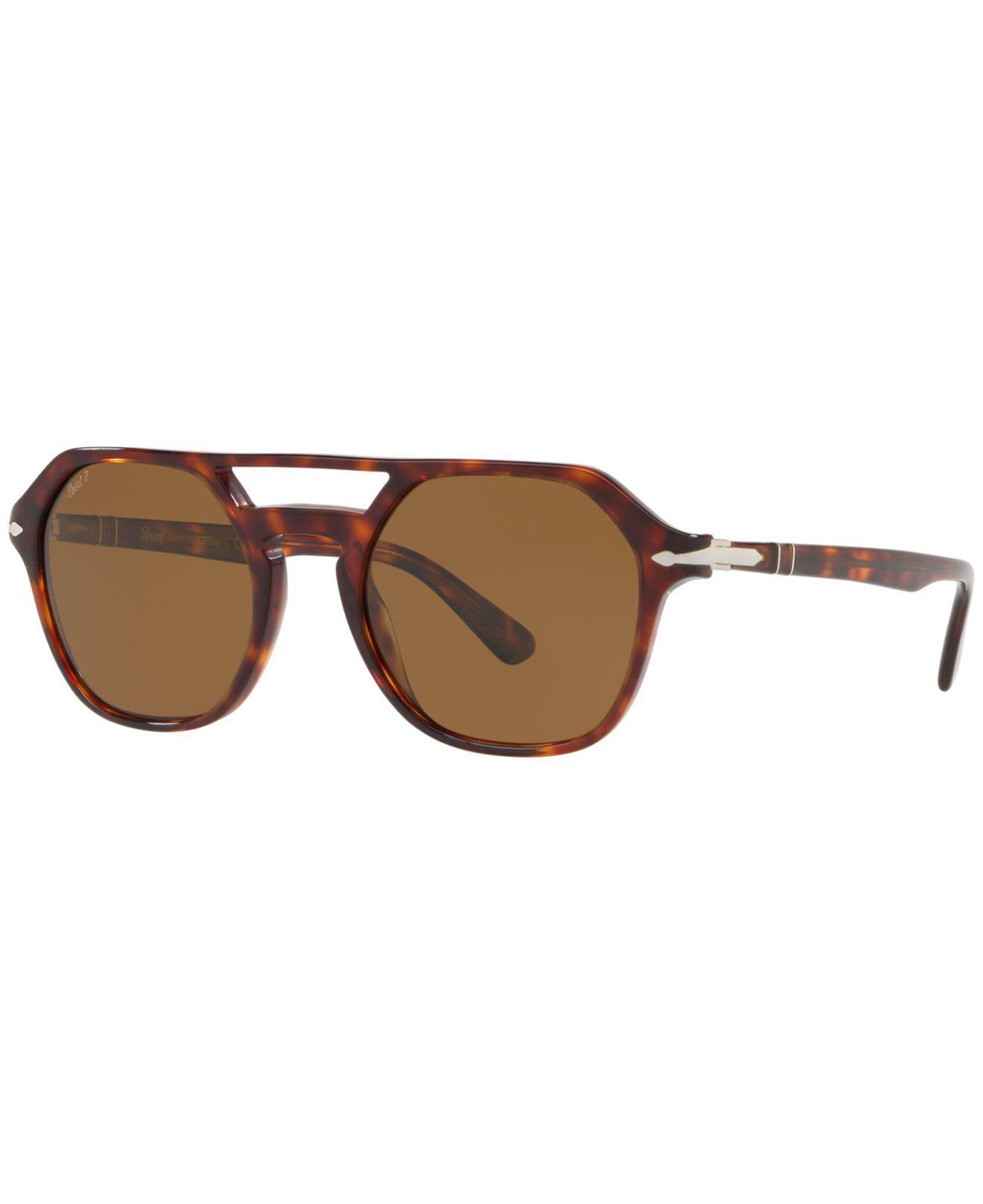 5ff4f681b8405 Lyst - Persol Polarized Sunglasses