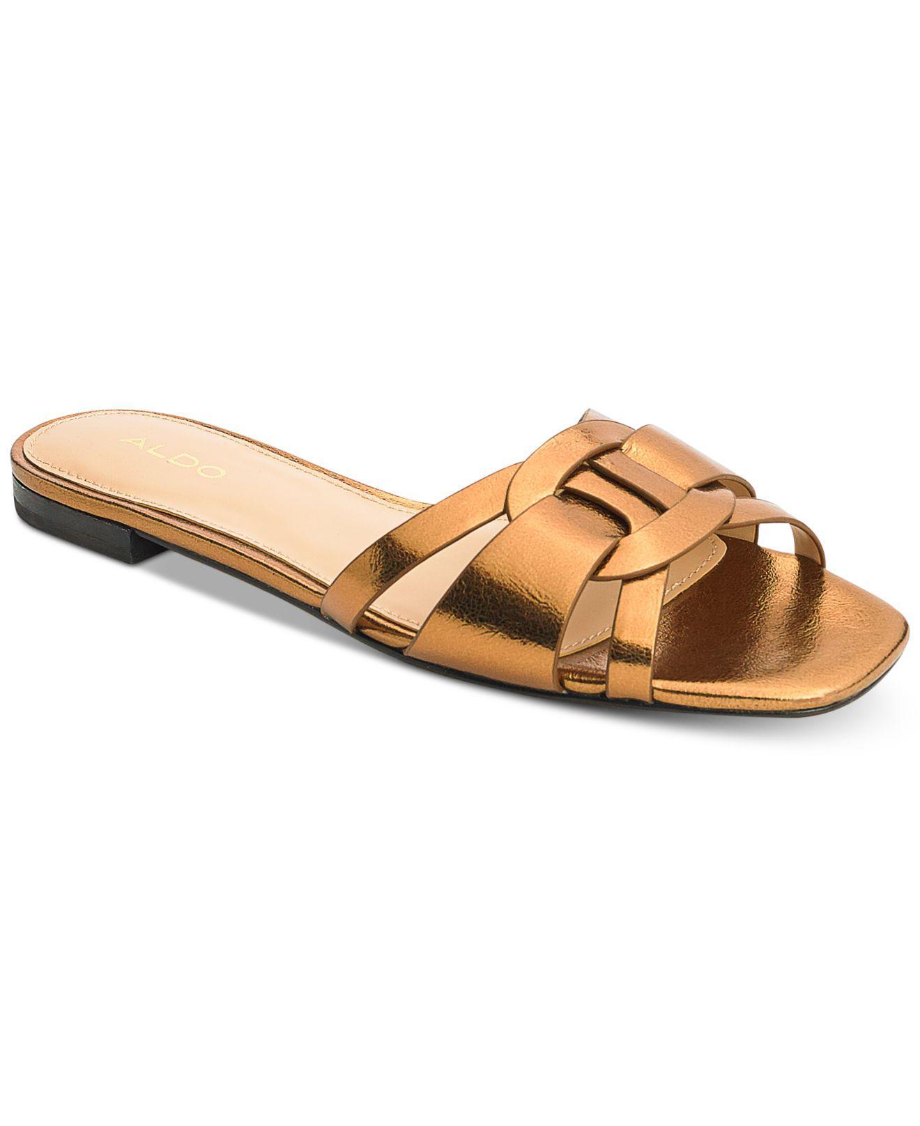 7756cfb5da5 Lyst - ALDO Astirassa Slide Sandals