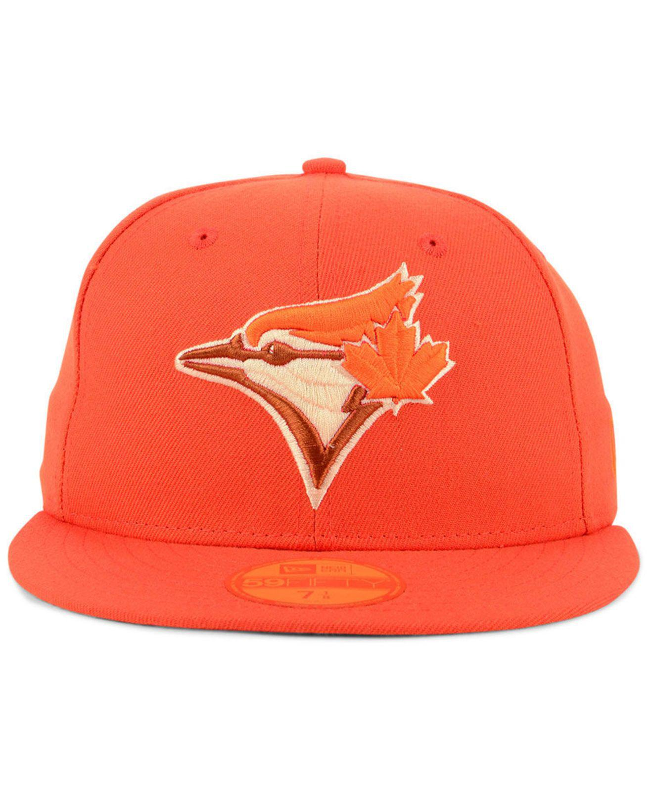 e47c36a840e Lyst - KTZ Toronto Blue Jays Prism Color Pack 59fifty Fitted Cap in Orange  for Men