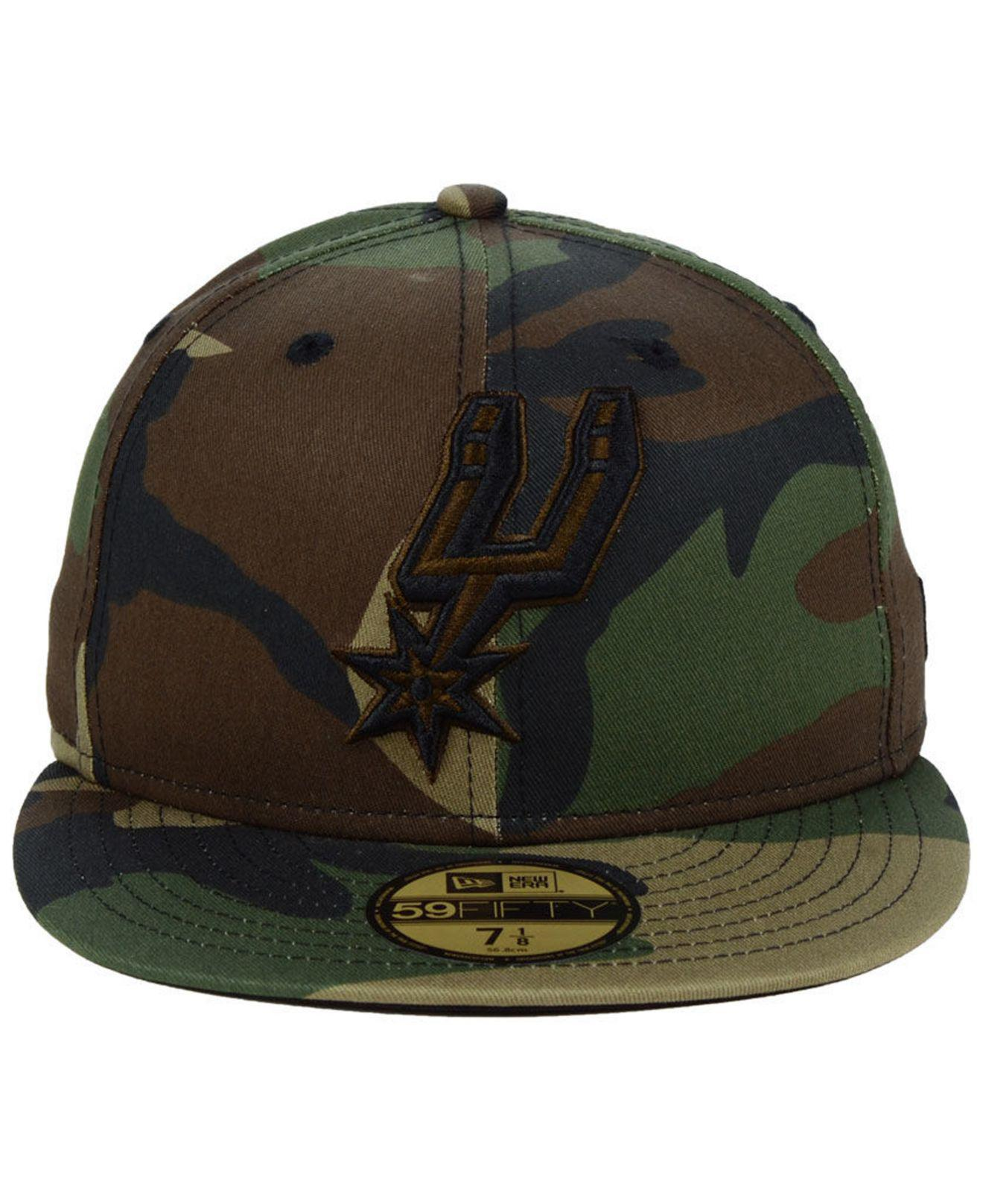 Lyst - Ktz San Antonio Spurs Fall Prism Pack 59fifty-fitted Cap in Green  for Men 57f717f81665