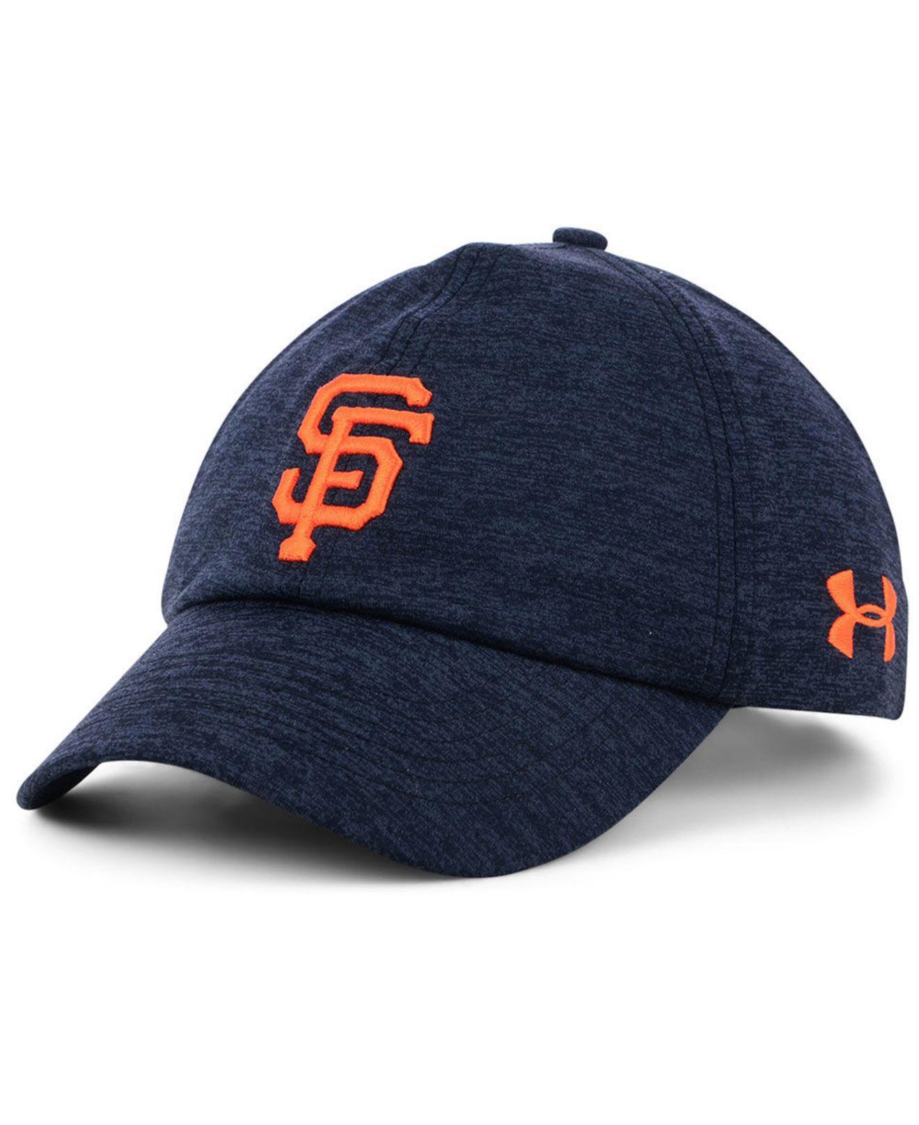e01a042e141 ... mlb shadow airvent adjustable hat b0764 4ea25  discount code for under  armour. womens blue san francisco giants renegade twist cap 695e1 8ce86
