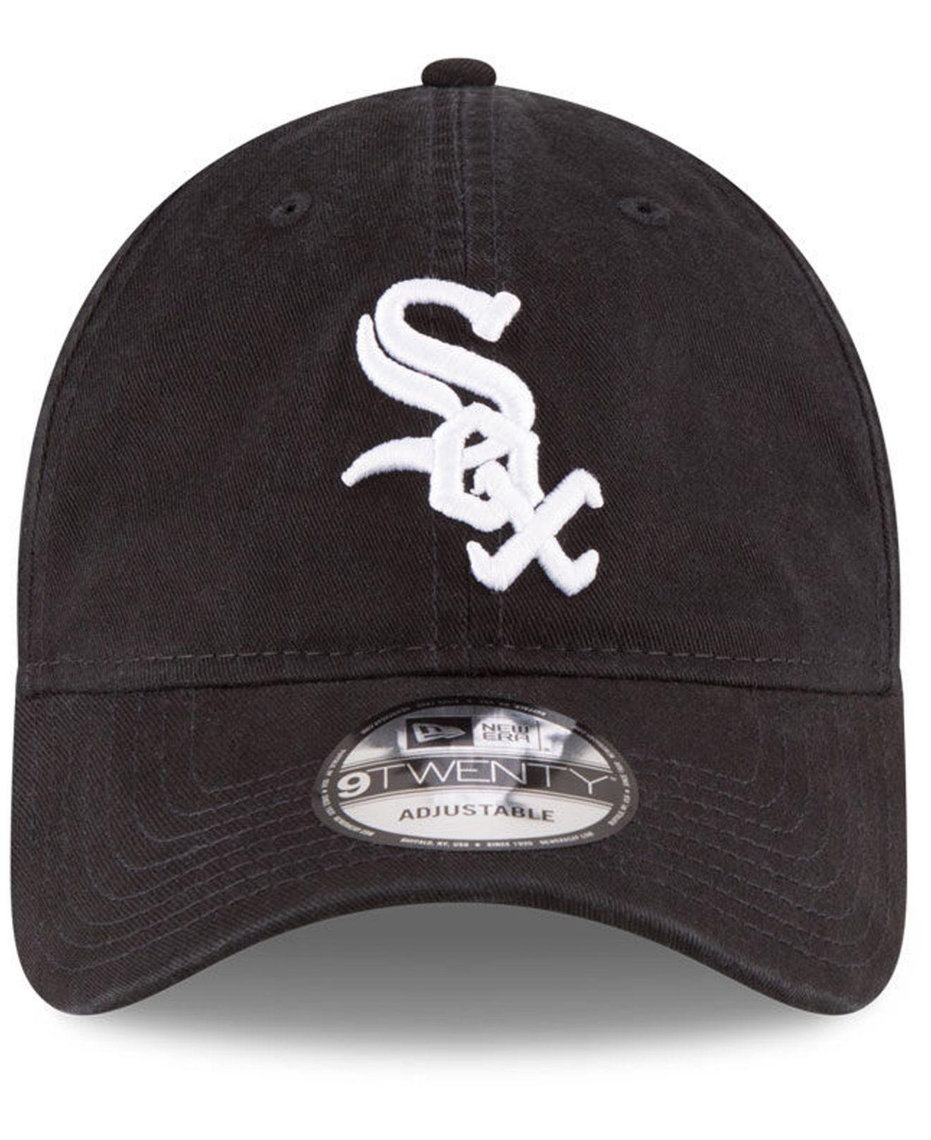 finest selection 458f0 76823 ... new zealand lyst ktz chicago white sox on field replica 9twenty fitted  cap in black for