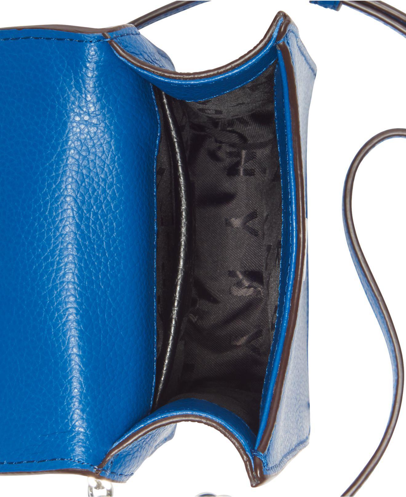 0416065d9 DKNY Elissa Pebbled Charm Chain Strap Crossbody, Created For Macy's ...