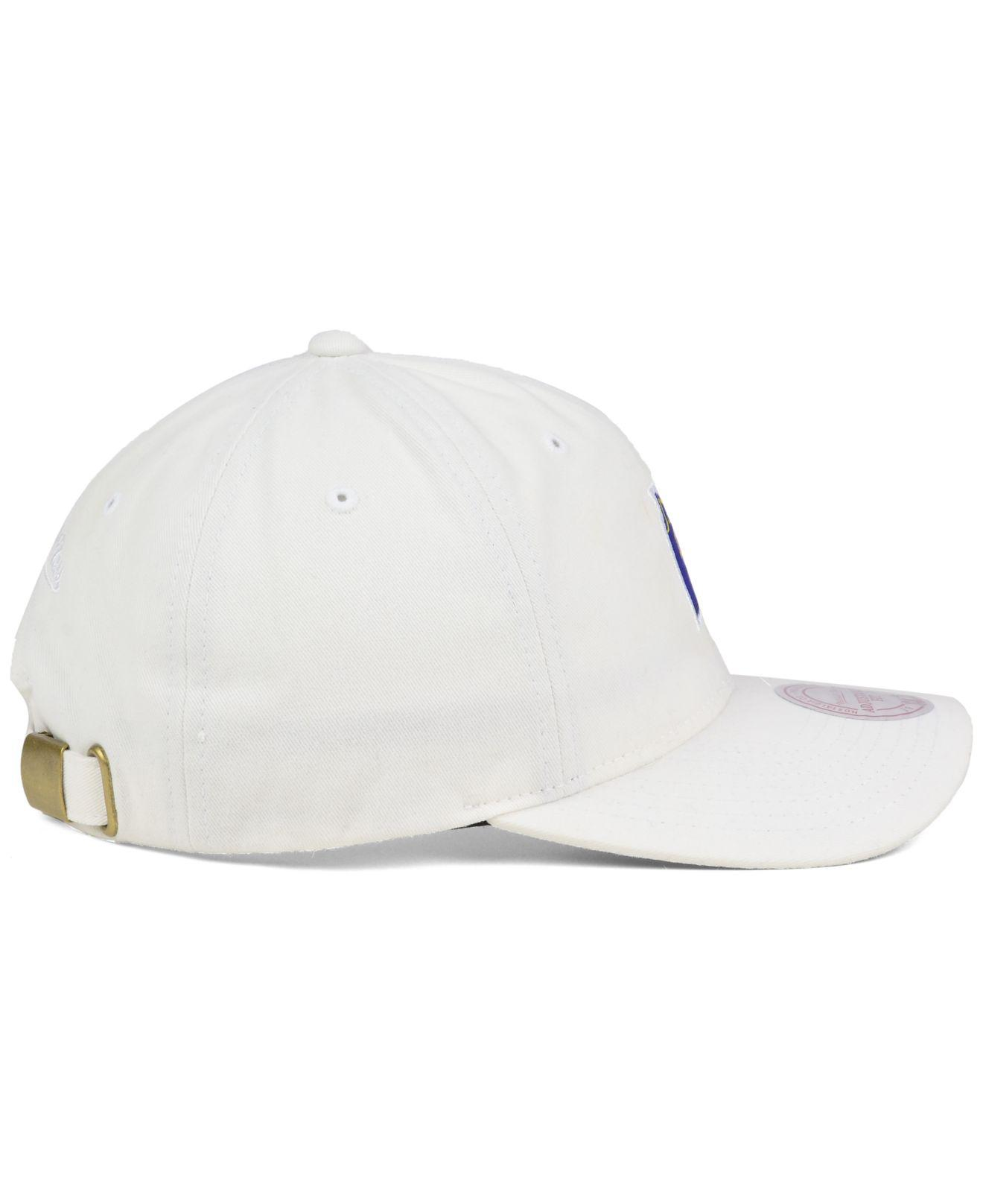 cheaper 5ad3d de5ac ... promo code for mitchell ness white deez jersey dad cap for men lyst.  view fullscreen