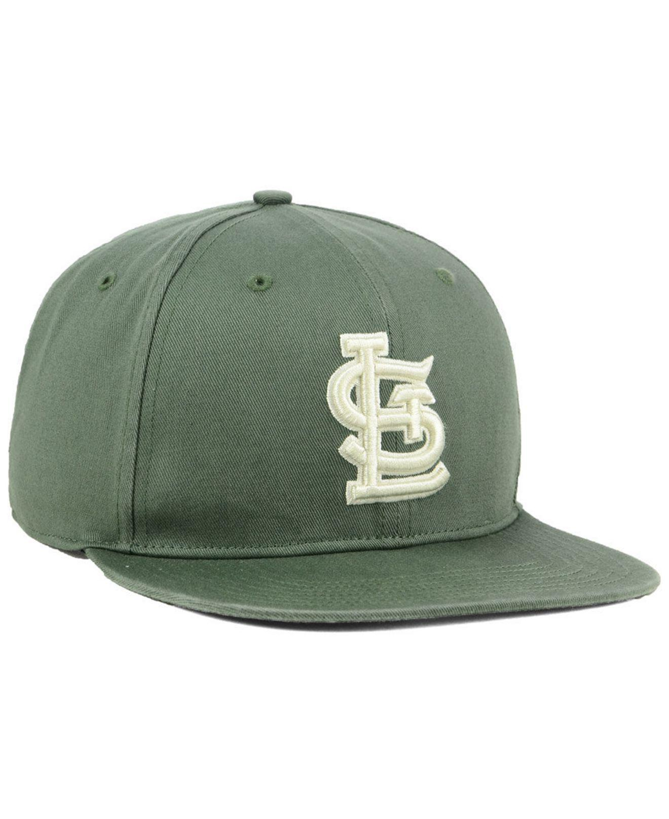 reputable site 5f028 7fd49 Lyst - 47 Brand St. Louis Cardinals Moss Snapback Cap in Green for Men