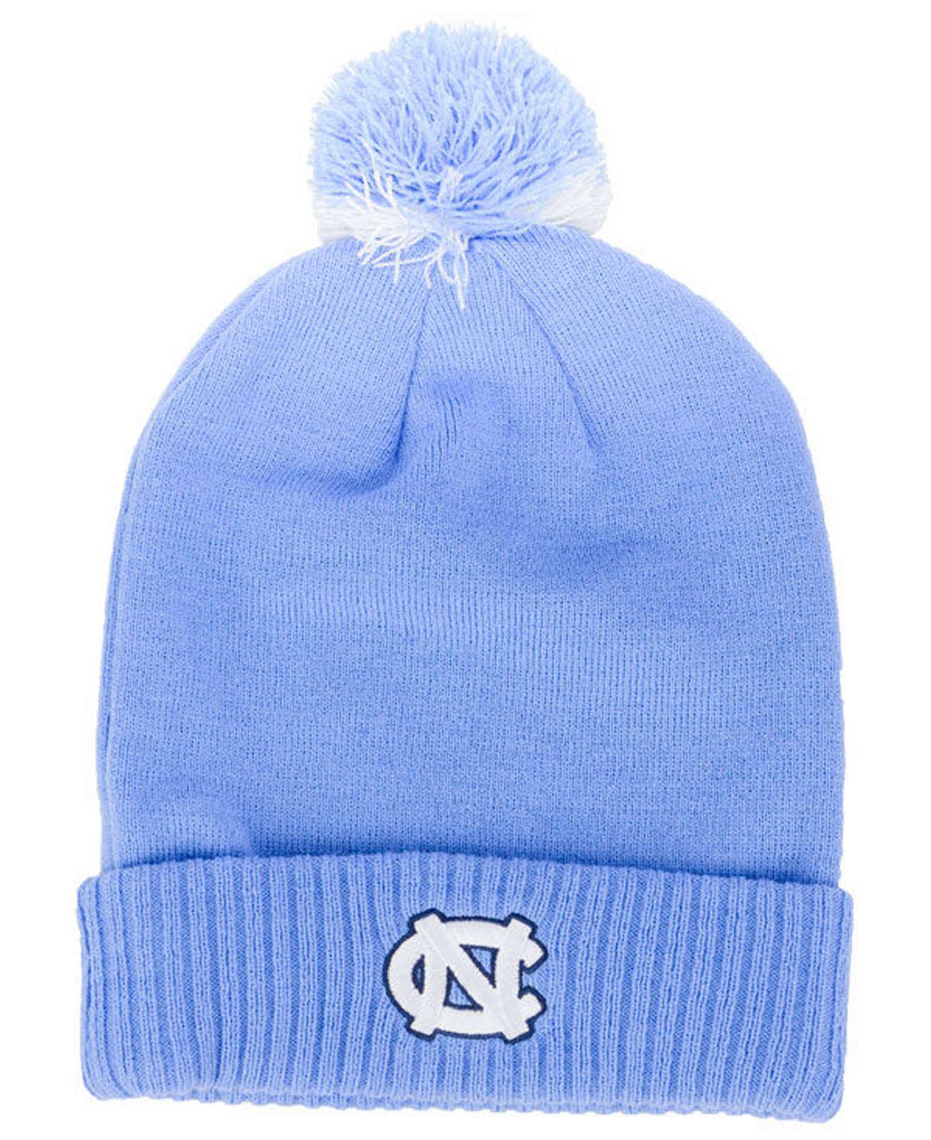 online store a72bd 14330 Lyst - Nike North Carolina Tar Heels Beanie Sideline Pom in Blue