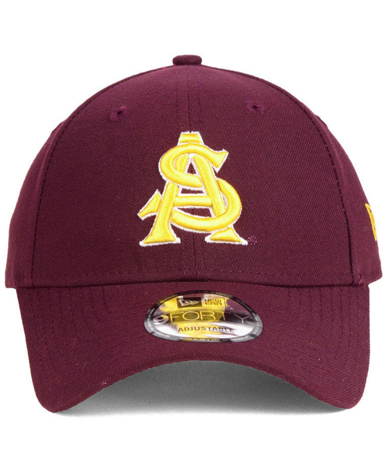 Lyst - KTZ Arizona State Sun Devils League 9forty Adjustable Cap in Purple  for Men 7b84dcb48146