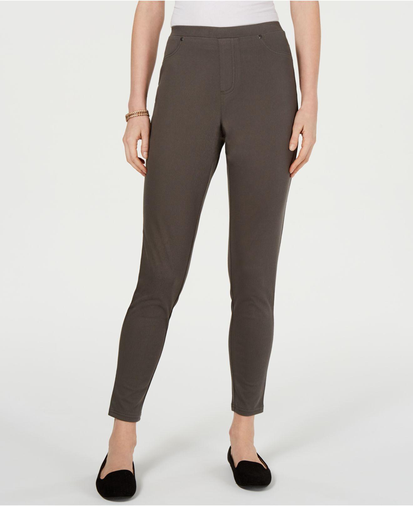 fc059a73c9ea9 Lyst - Style & Co. Twill Pull-on Leggings, Created For Macy's