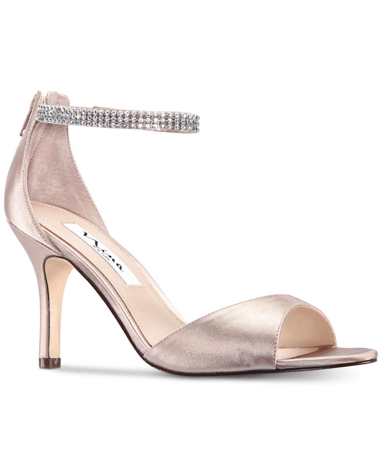 3aeb0104ea8 Nina. Women s Volanda Evening Dress Sandals