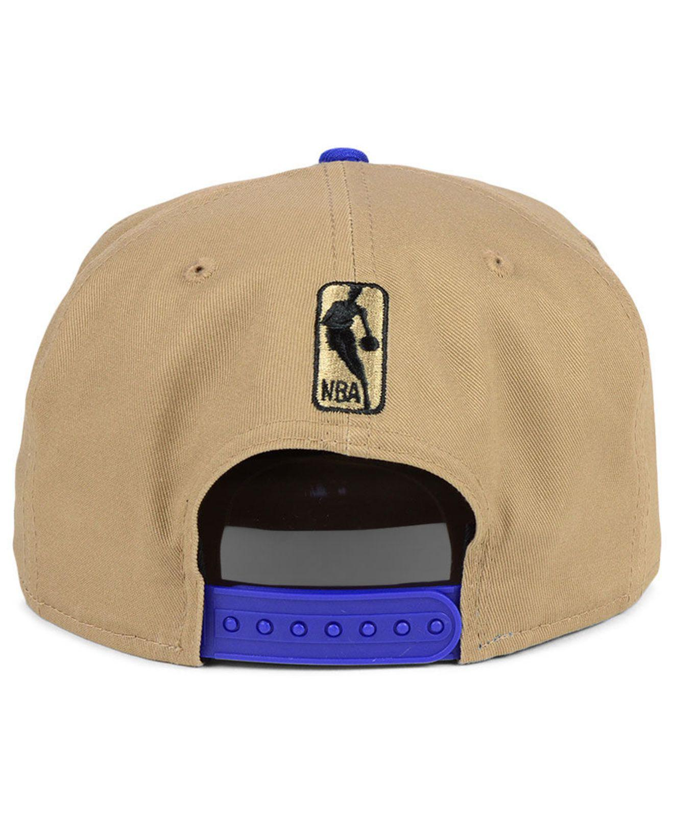 buy online 4402d ae110 KTZ Golden State Warriors Jack Knife 9fifty Snapback Cap in Blue for ...