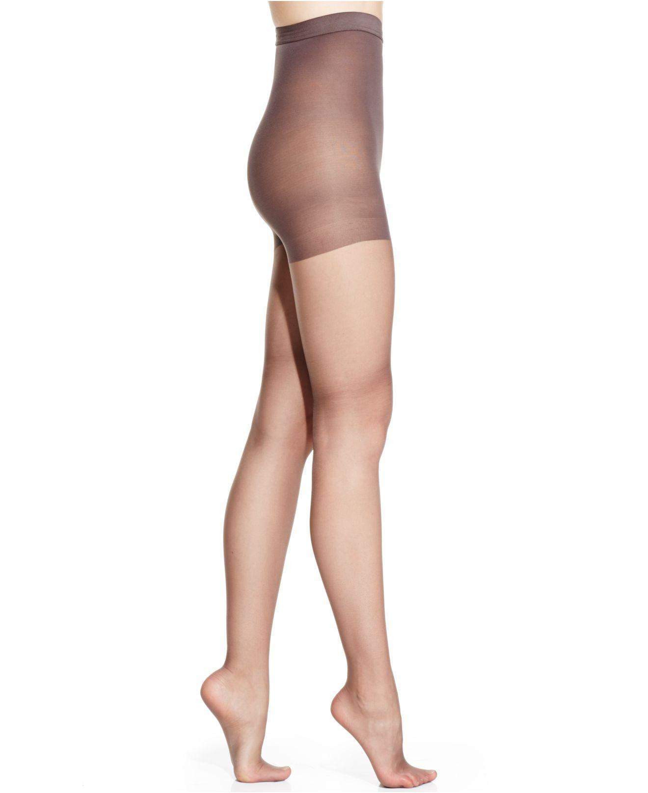 7938b980952e5 Hanes. Women's Silk Reflections High Waist Tummy Control Top Silky Sheers  0b184