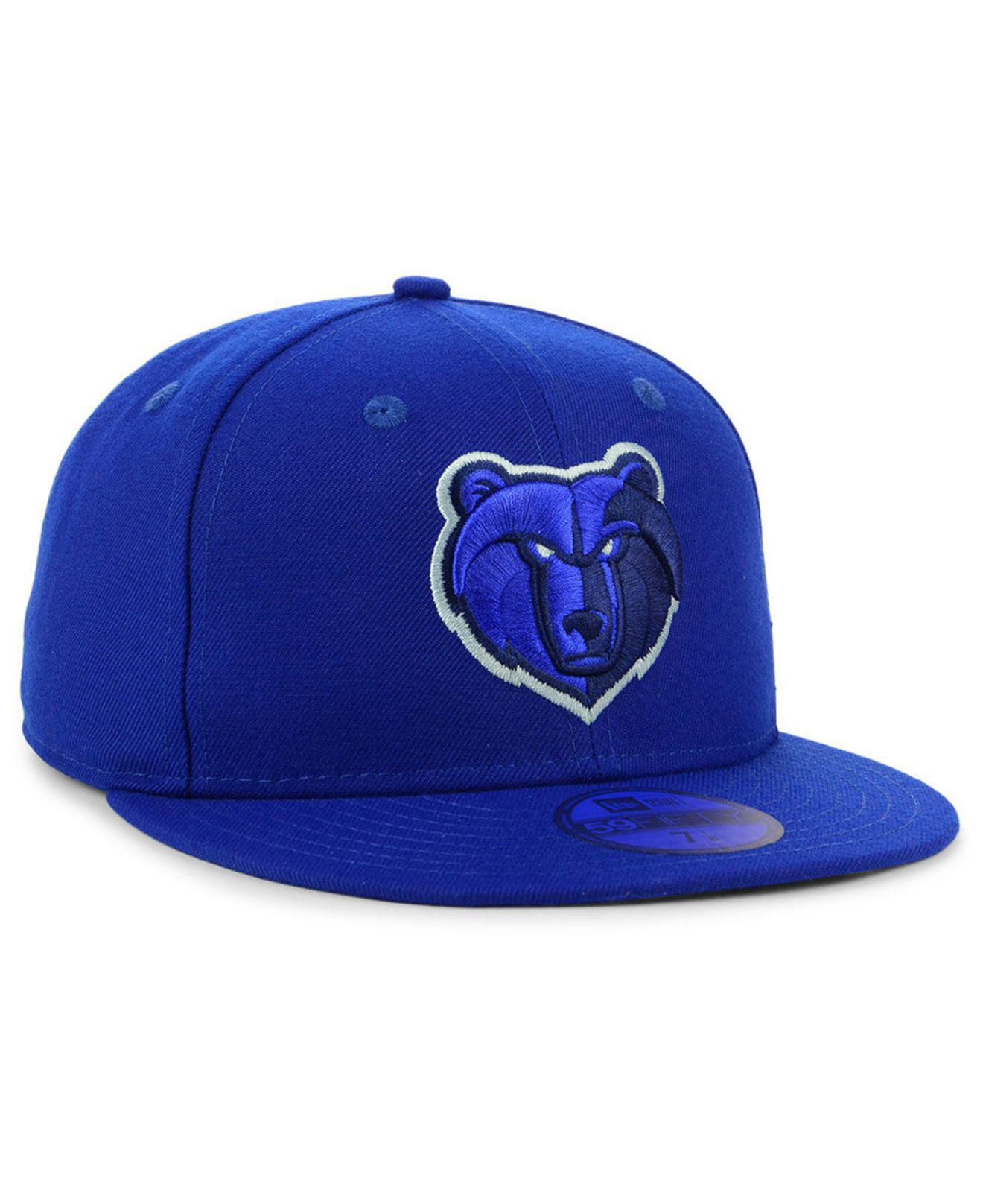 newest f24e9 40b07 ... france lyst ktz memphis grizzlies color prism pack 59fifty fitted cap  in f1999 e820f