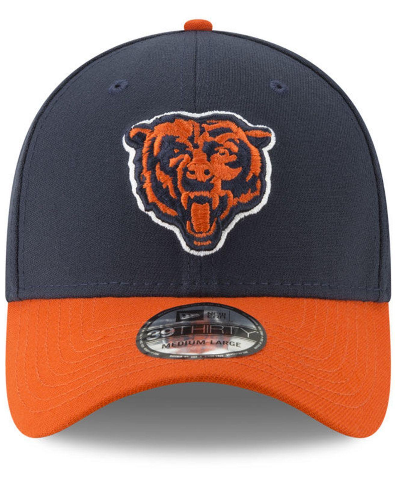 Lyst - Ktz Chicago Bears New Team Classic 39thirty Cap in Blue for Men 0e3cccddac9c