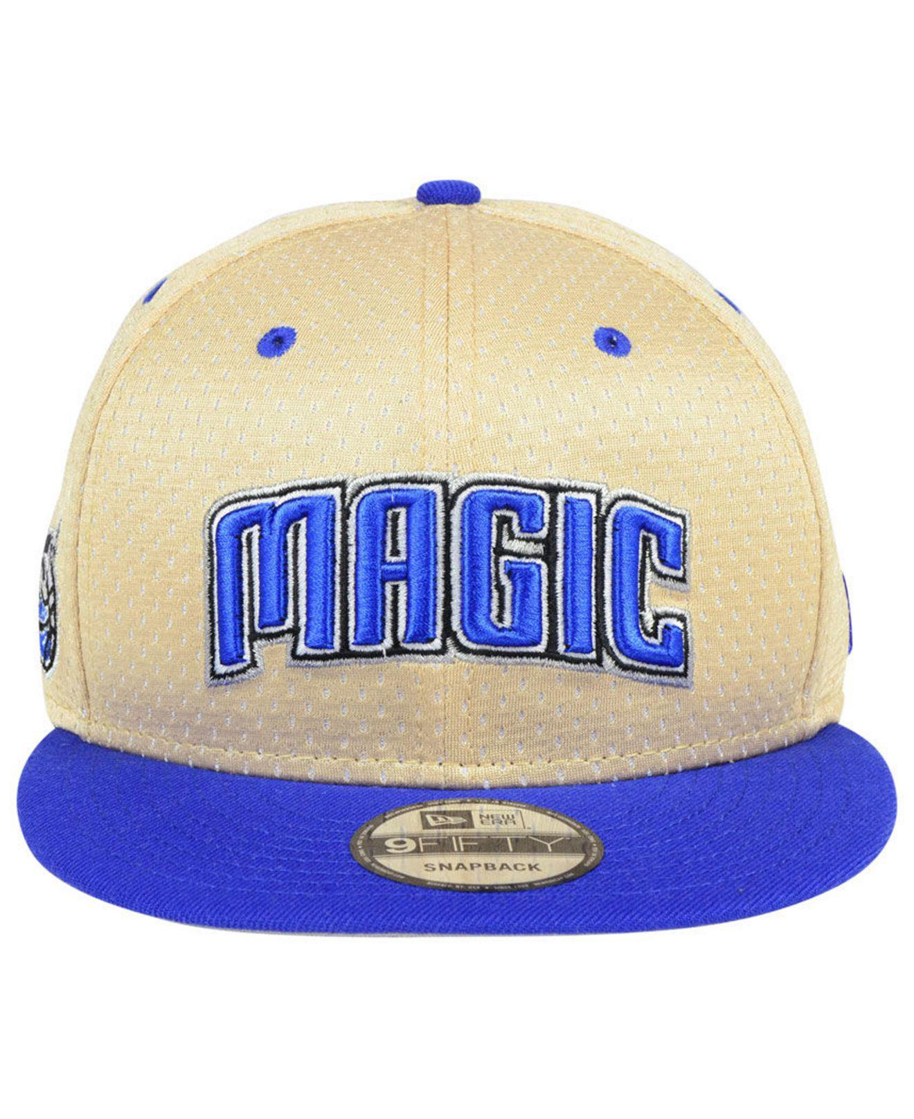 buy online bc6c5 d9e6f Lyst - KTZ Orlando Magic Champagne 9fifty Snapback Cap in Blue for Men