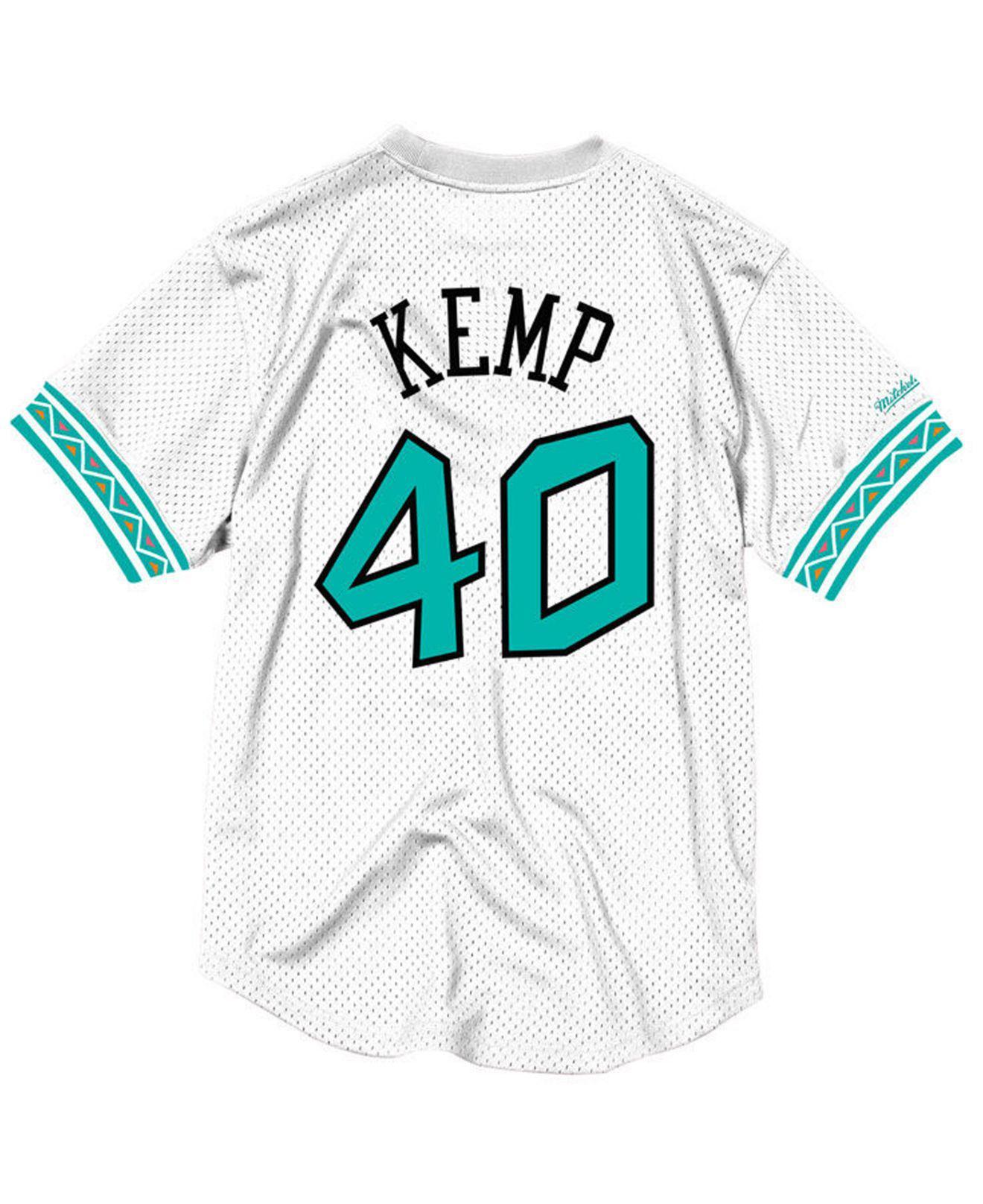 79a1c8dd77b Mitchell   Ness Shawn Kemp Nba All Star 1996 Mesh Crew Neck Jersey ...