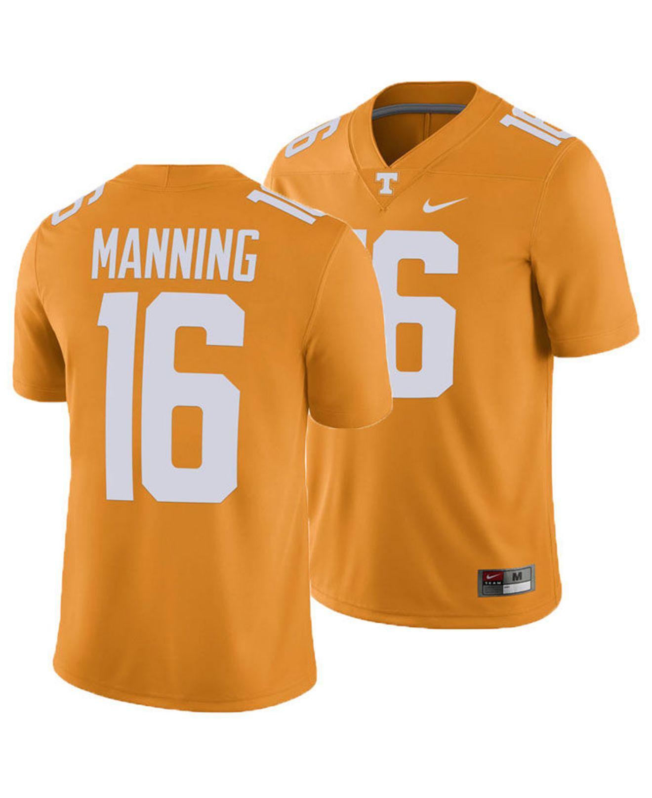 1a23c9098 Lyst - Nike Peyton Manning Tennessee Volunteers Player Game Jersey ...