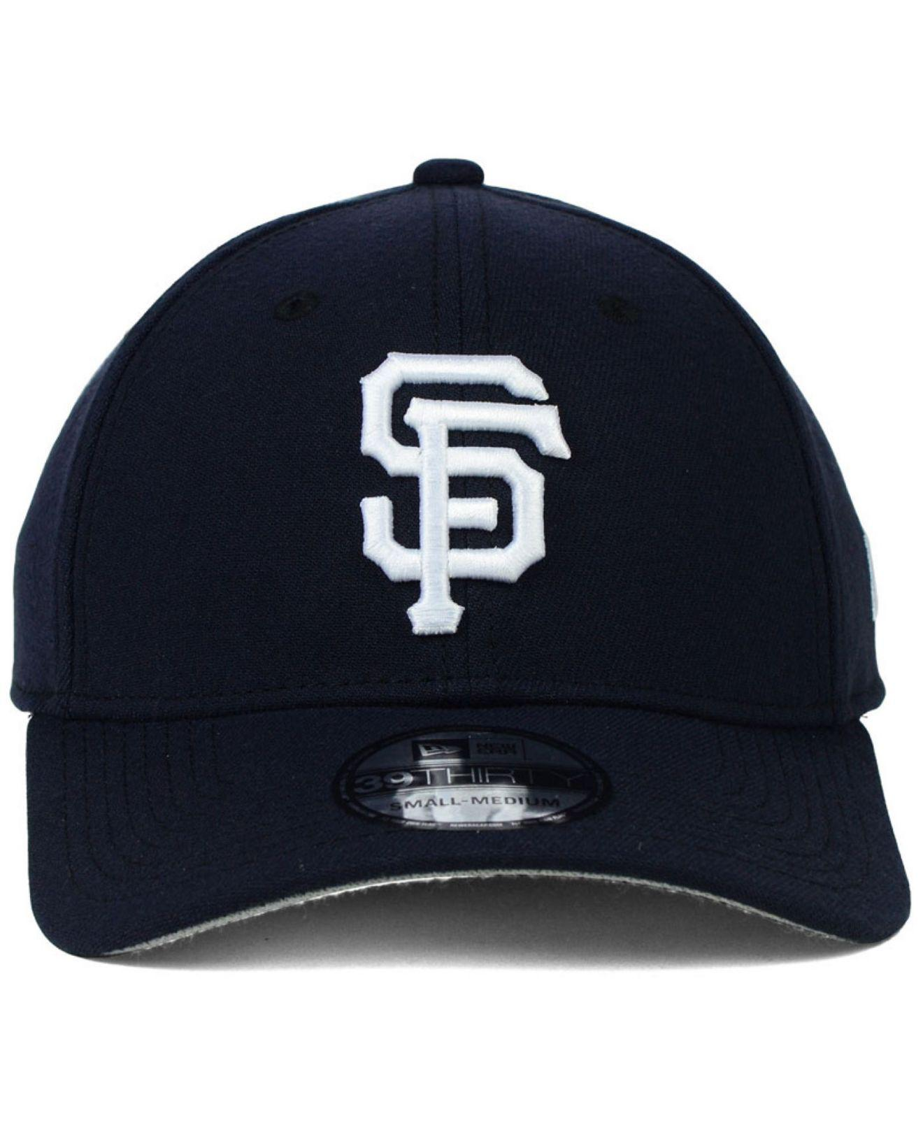 finest selection f4b4b 71e58 ... new zealand lyst ktz san francisco giants fashion 39thirty cap in blue  for men ccf56 c8be2