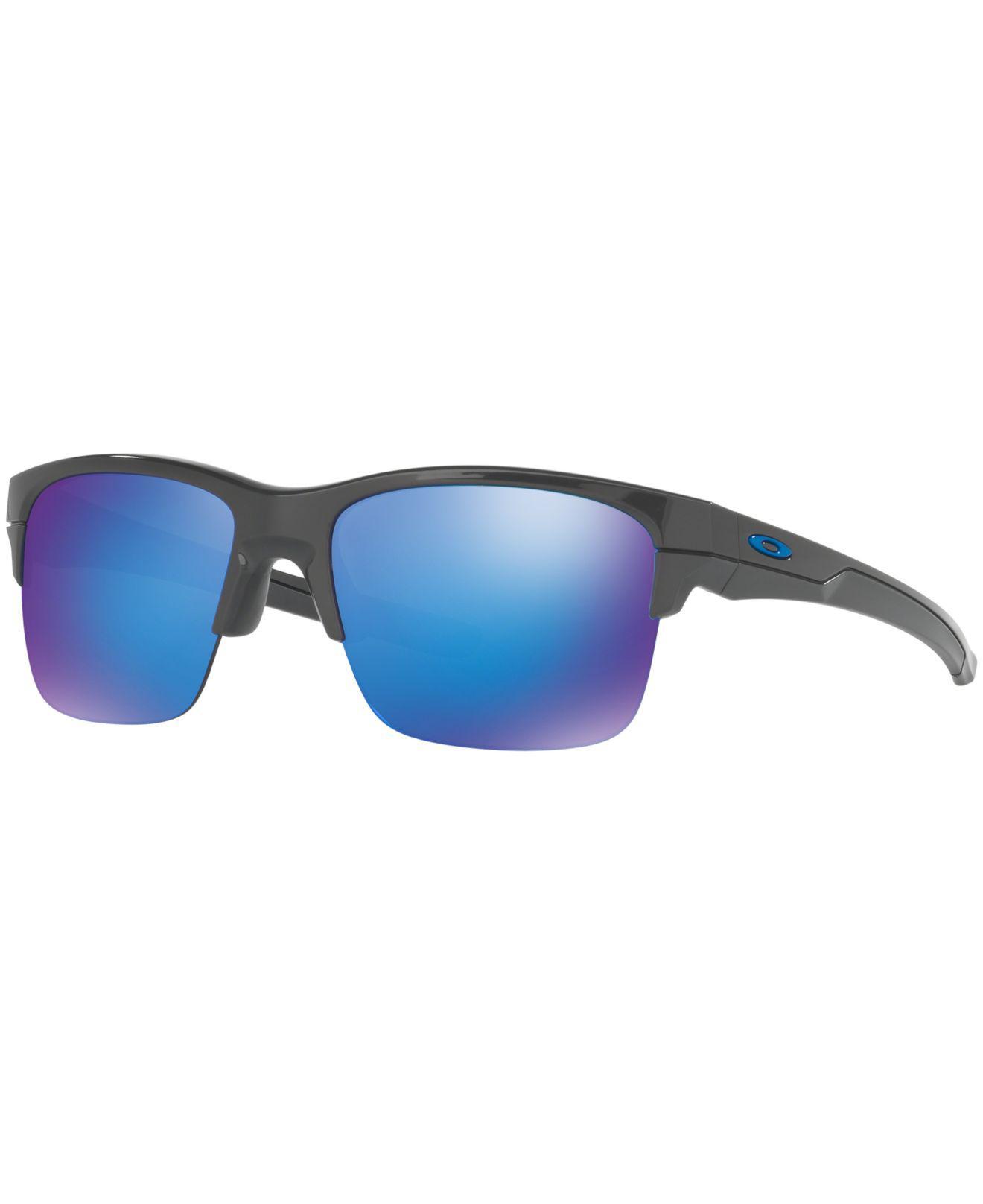 612ce226c30a5 Oakley. Men s Blue Sunglasses ...