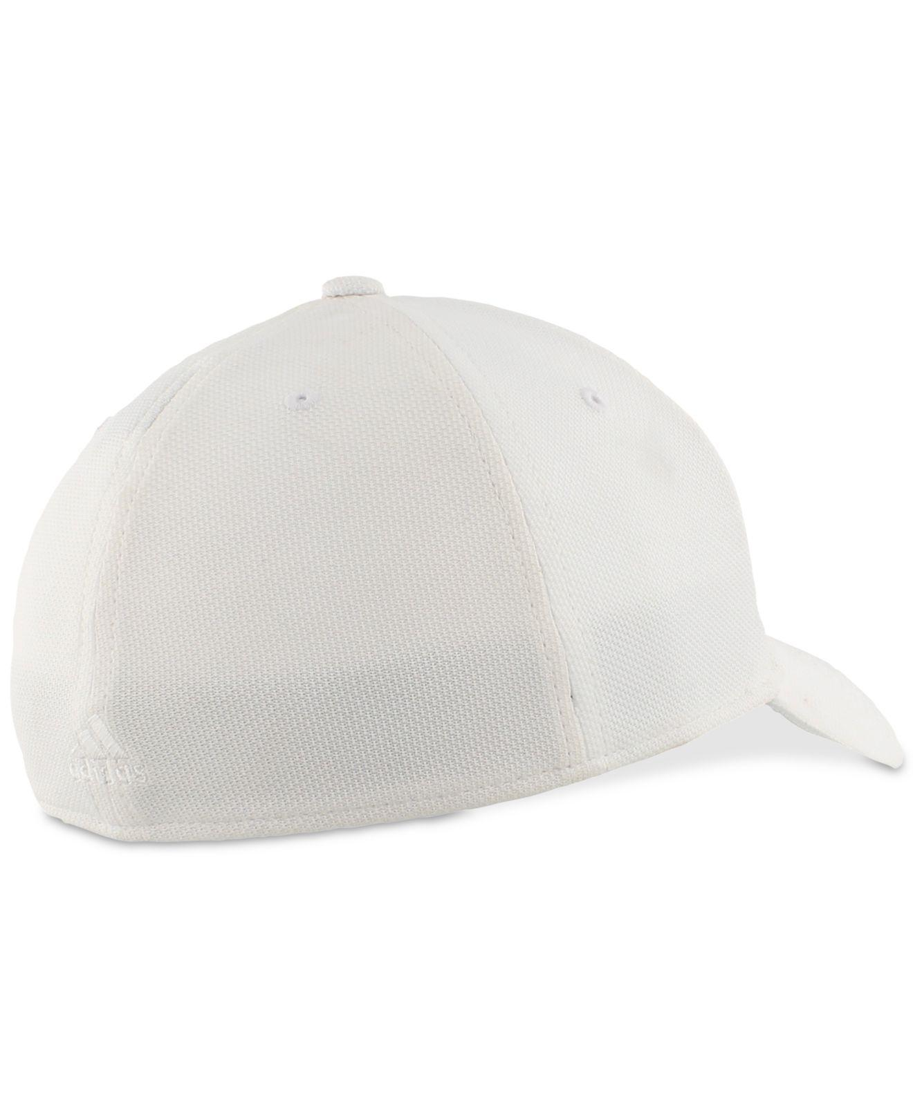 Lyst - adidas Climalite® Stretch Rucker Hat in White for Men b41fb98c4d6b