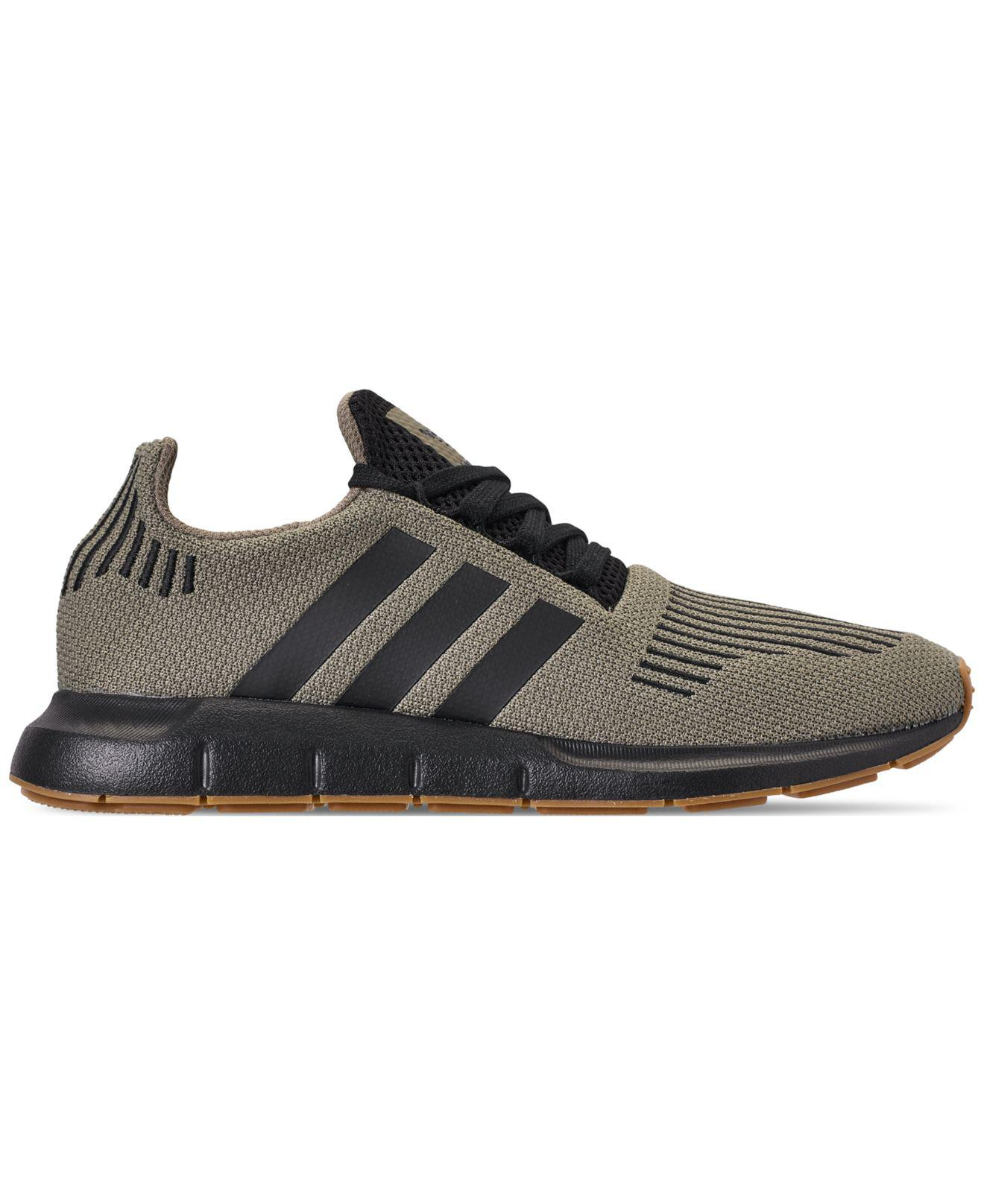 331670ac4 Lyst - adidas Swift Run Casual Sneakers From Finish Line in Black for Men