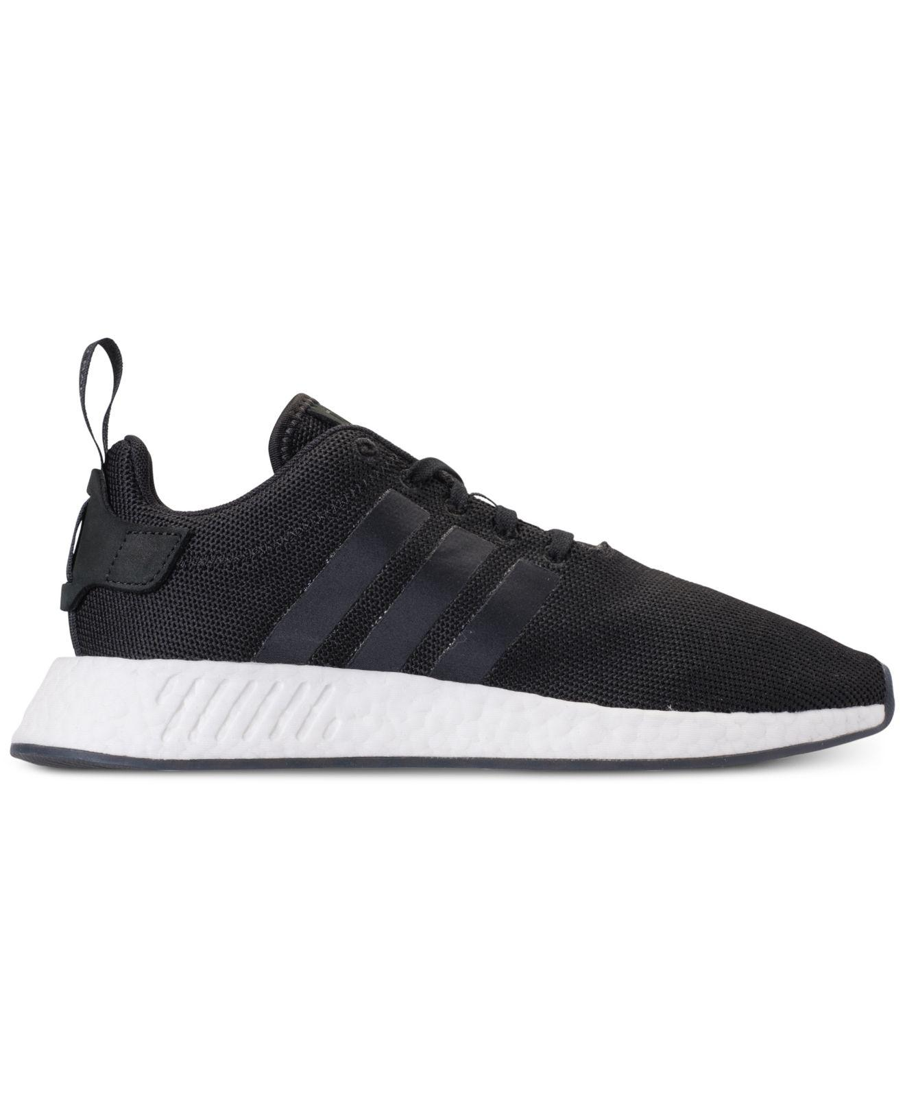 separation shoes 5a95f 9cf5d Lyst - adidas Nmd R2 Casual Sneakers From Finish Line in Black for Men