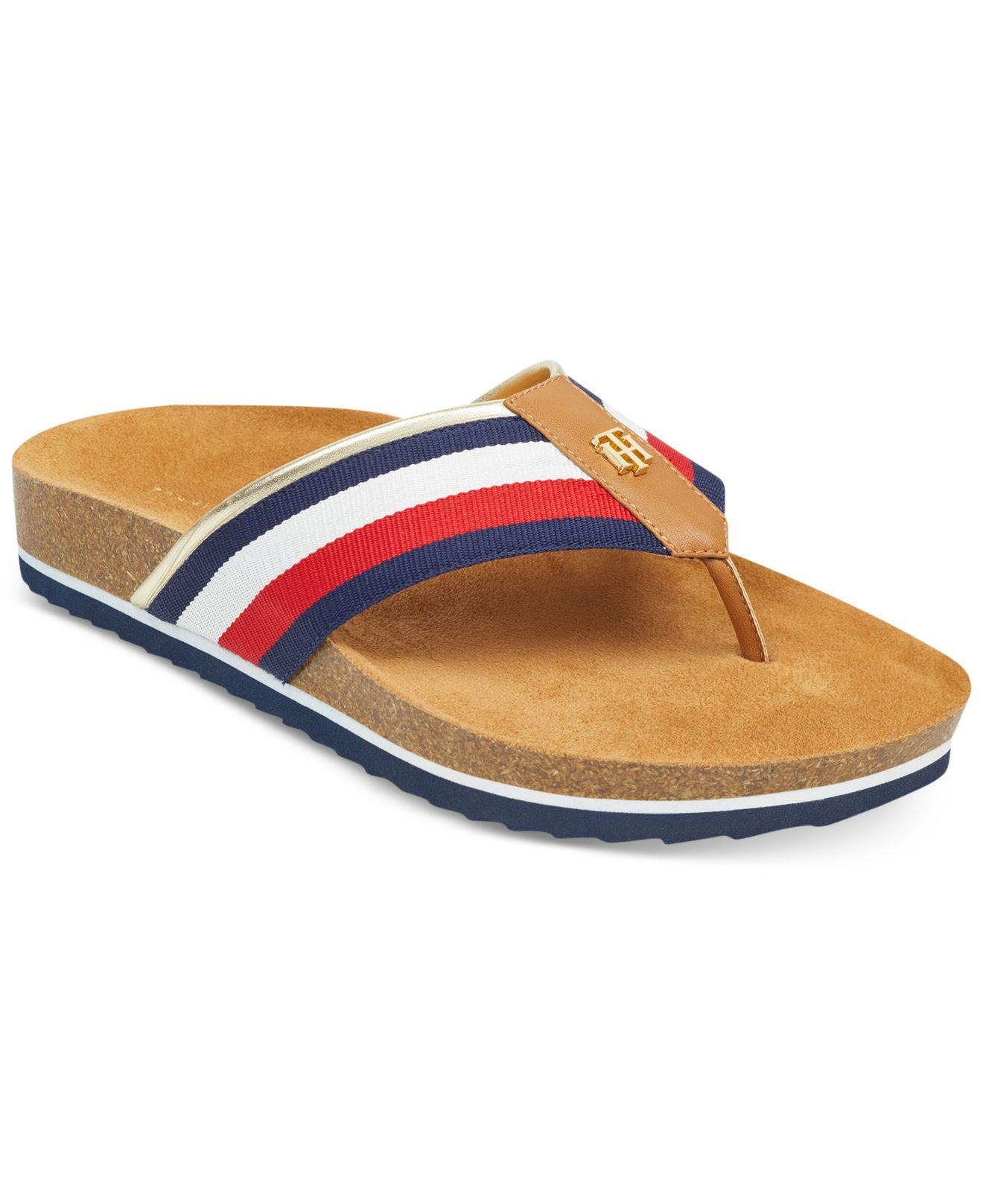 7458336d8 Lyst - Tommy Hilfiger Giulio Flip Flops in Blue