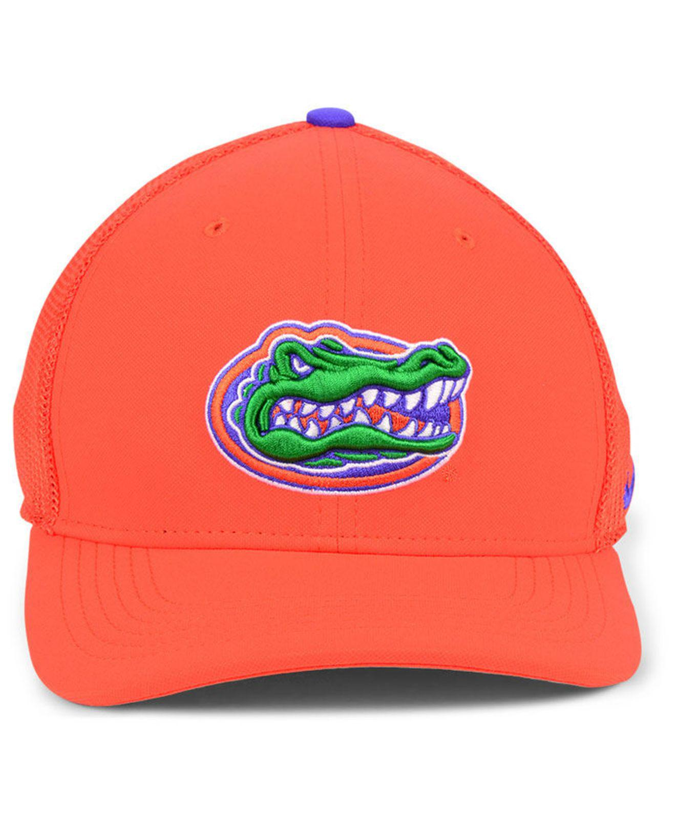new product c3074 fb9da ... discount lyst nike florida gators col aro swooshflex cap in orange for  men 4ce28 785ff
