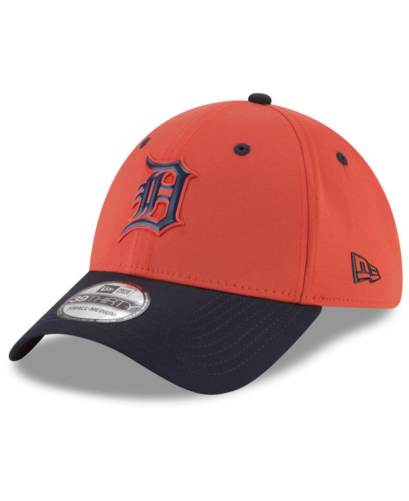 free shipping d05a6 c3722 ... Detroit Tigers Batting Practice 39thirty Cap for Men - Lyst. View  fullscreen