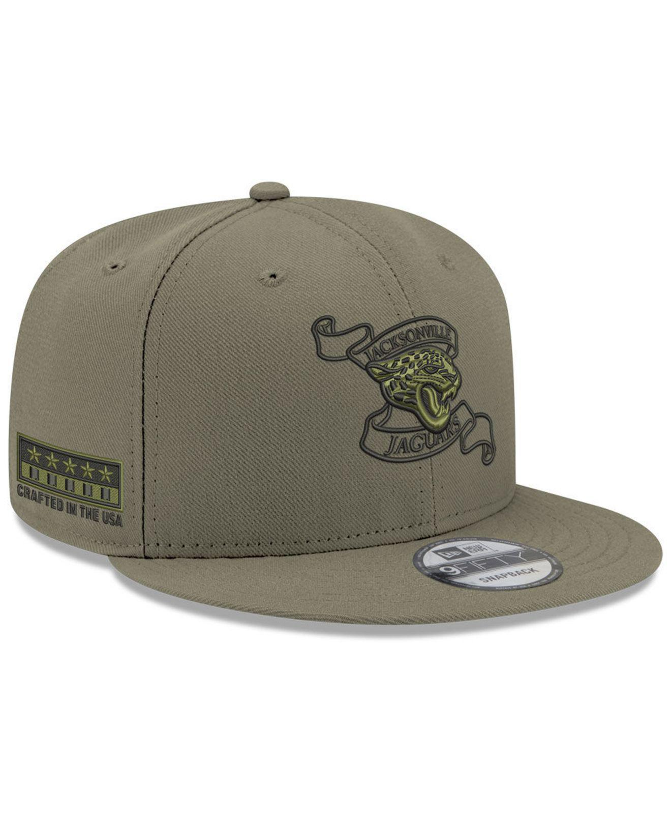 2c9c098da70 Lyst - KTZ Jacksonville Jaguars Crafted In The Usa 9fifty Snapback ...