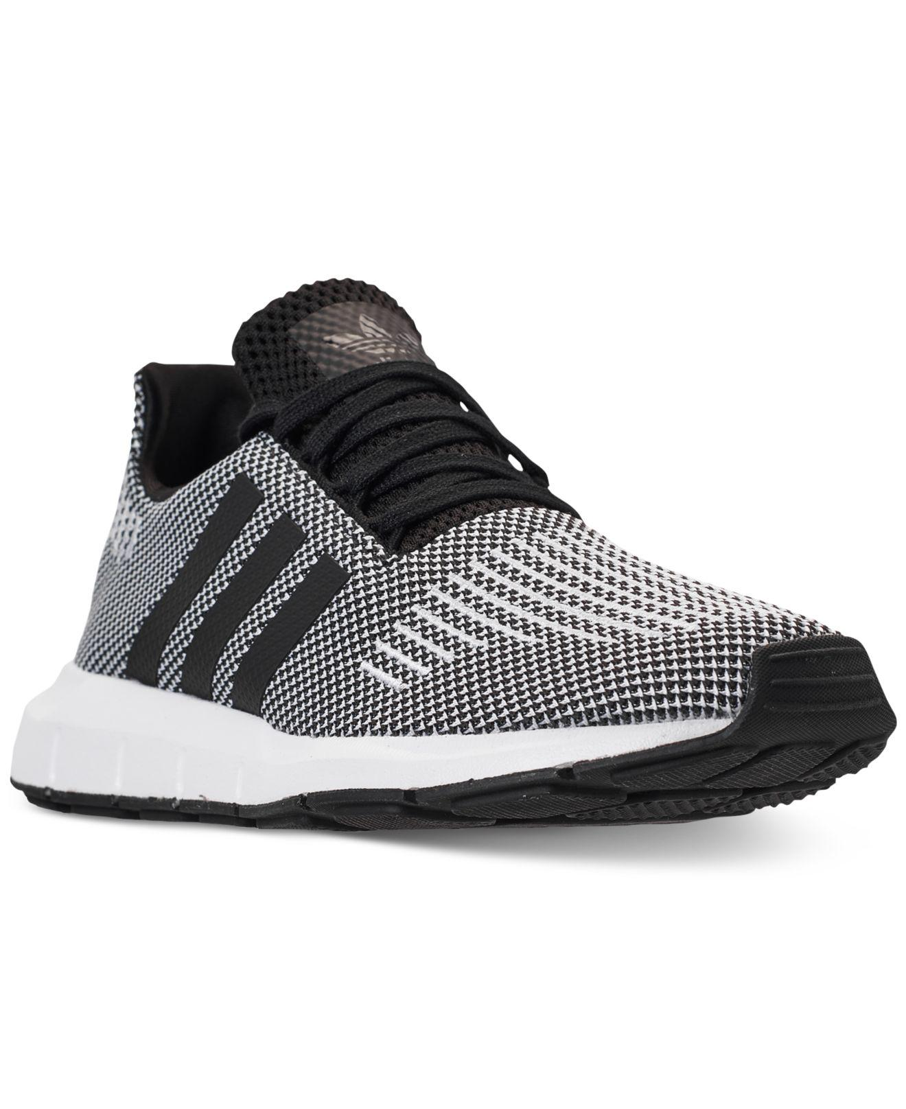 Lyst - adidas Swift Run Casual Sneakers From Finish Line in Black ... 607f4decf