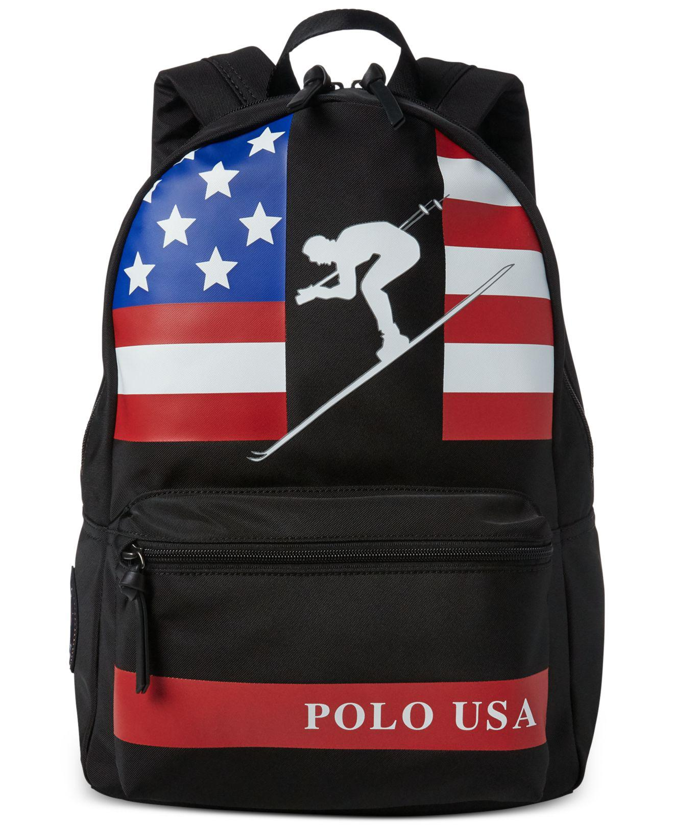 182b2413bdf8 Lyst - Polo Ralph Lauren Water-repellent Downhill Skier Backpack in ...