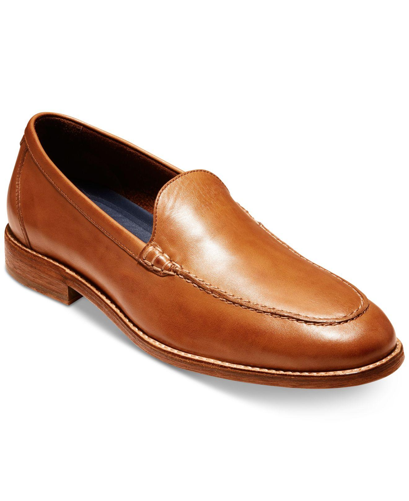 38a46ff357d Lyst - Cole Haan Feathercraft Grand Venetian Loafers in Brown for Men