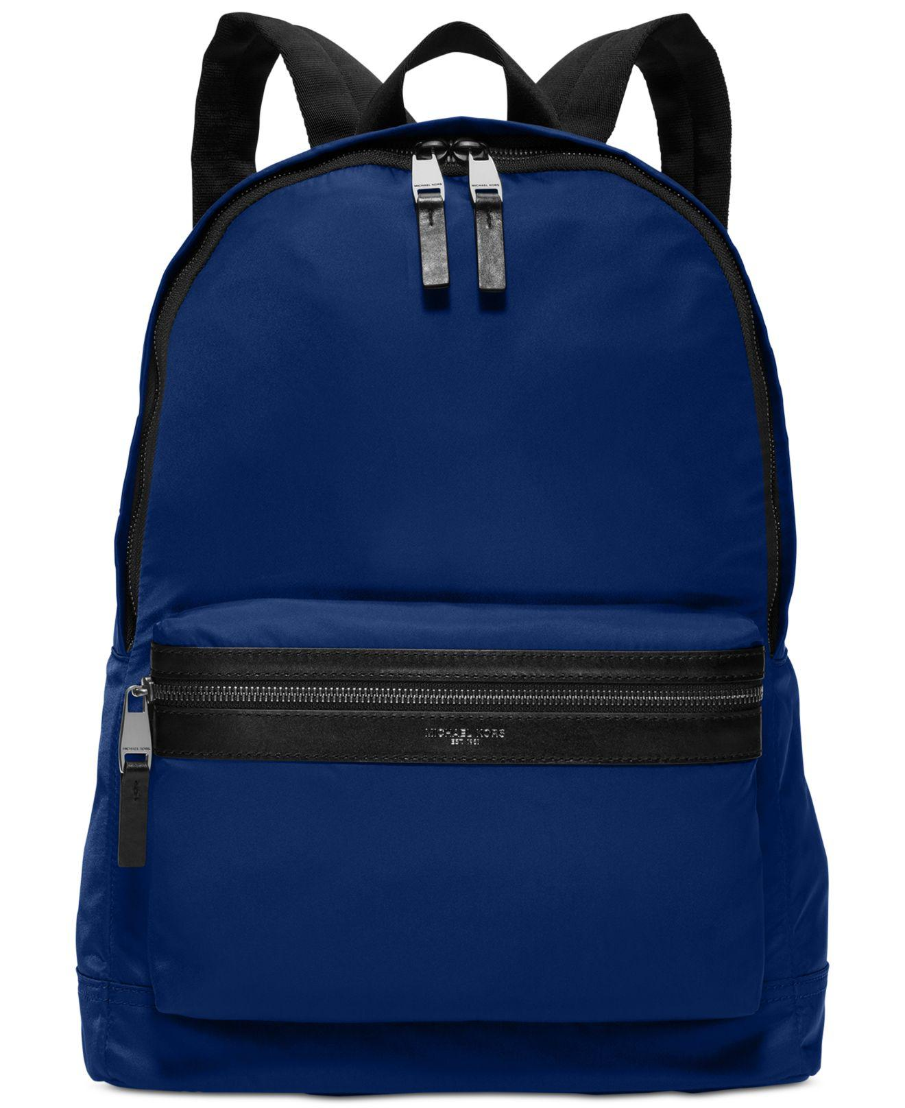 e1dfc54183f1 Michael Kors Kent Lightweight Nylon Backpack in Blue for Men - Lyst