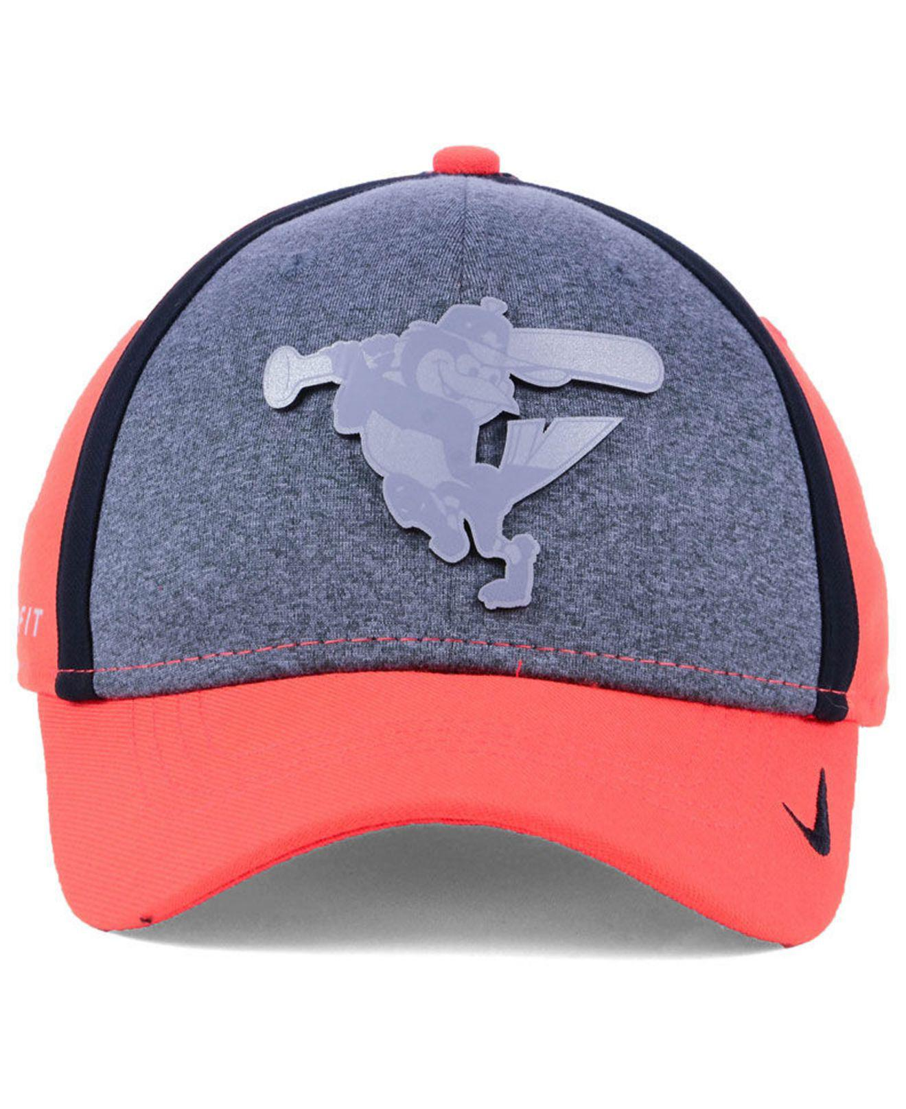 pretty nice 89d7d 27b1c ... sale lyst nike baltimore orioles team color reflective swooshflex cap  for men 3d66f 3d251