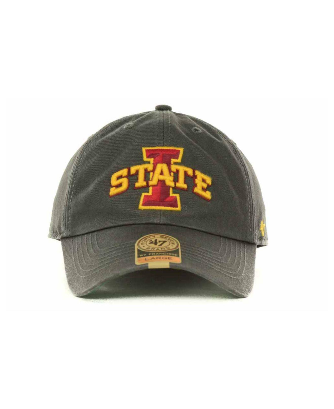 watch 7209b 60256 ... germany lyst 47 brand iowa state cyclones franchise cap in gray for men  2f6fa 626e2