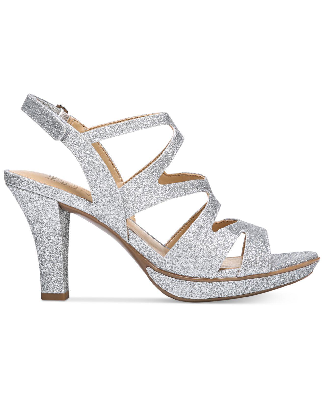 a5bb5e300d2 Naturalizer Dianna Slingback Sandals in Metallic - Save 60.55045871559633%  - Lyst