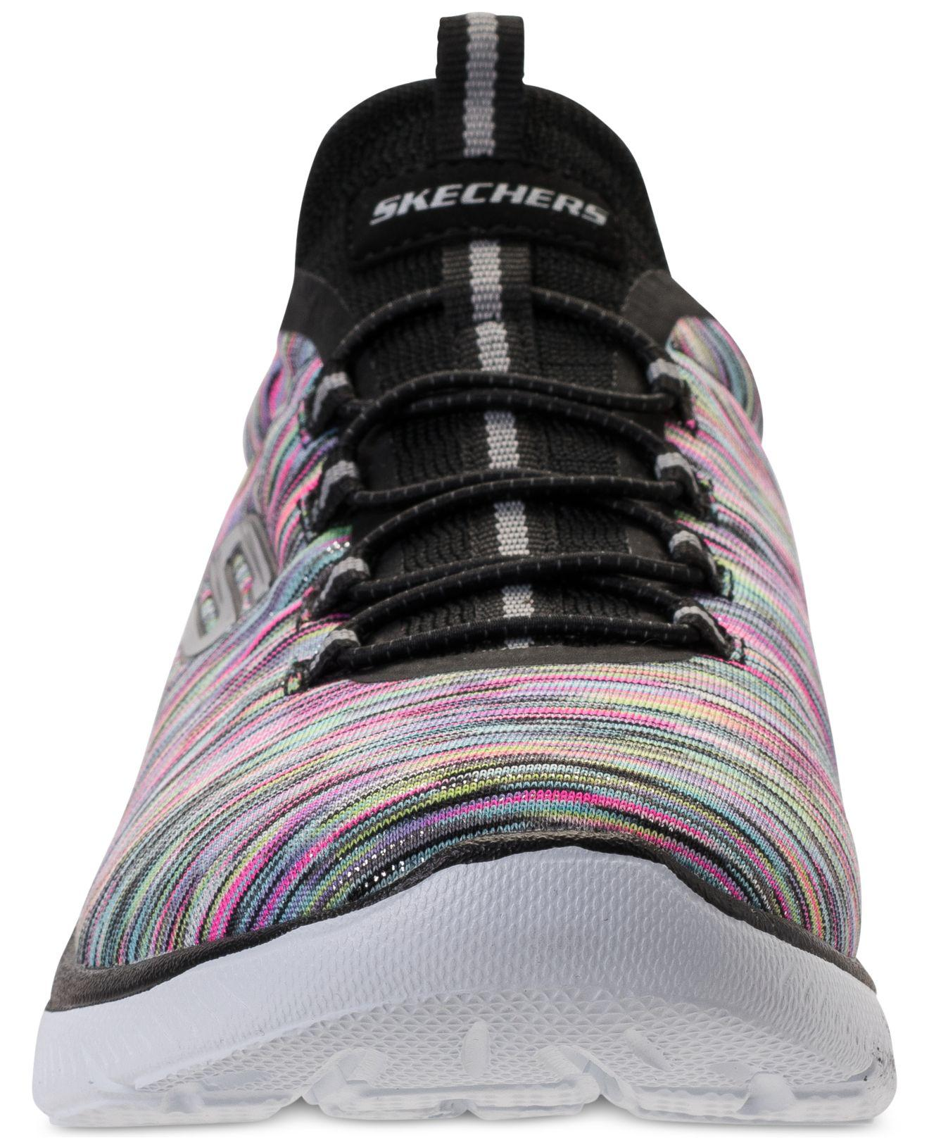 7a21acf20643 Lyst - Skechers Summits - Light Dreaming Wide Width Athletic ...