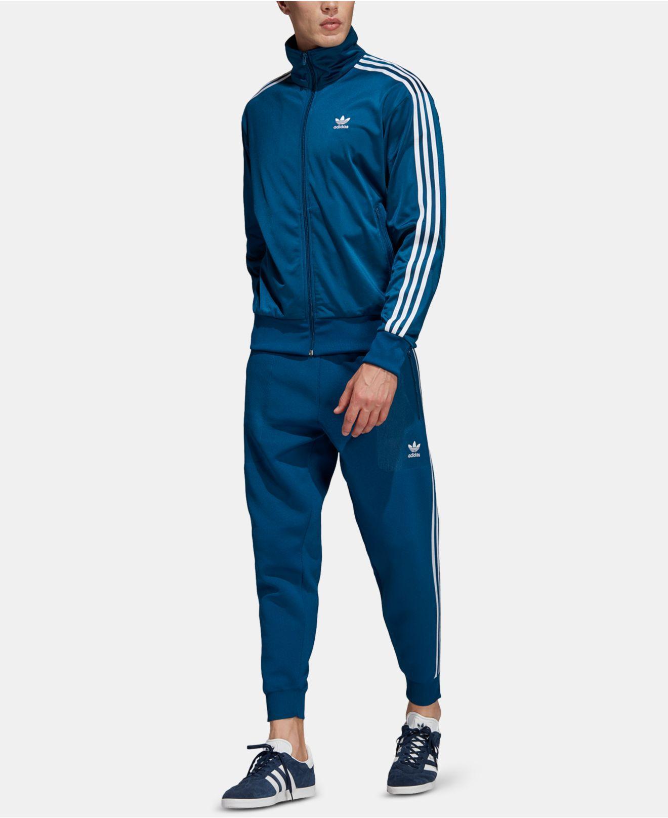 new arrival 9de55 c01a7 Lyst - adidas Adicolor Firebird Track Jacket in Blue for Men